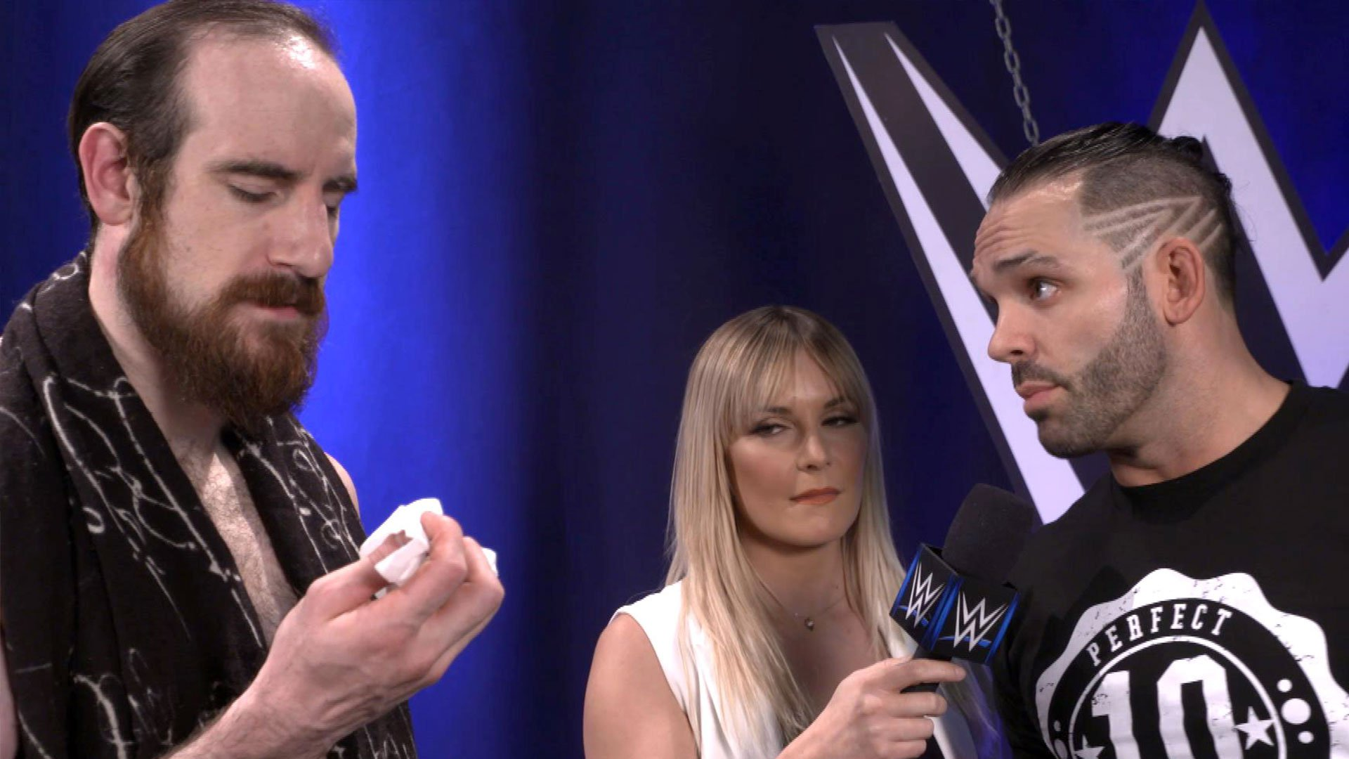 Aiden English staje przed Tye Dillingerem na Backlash Kickoff: WWE.com Exclusive 16.05.17