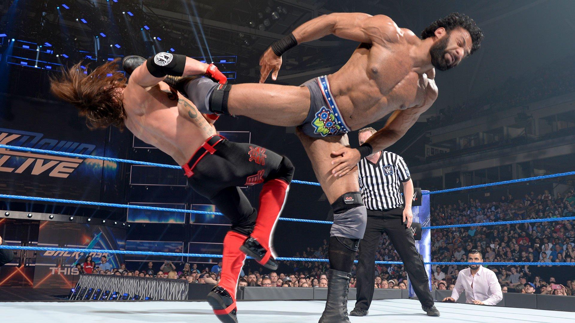 AJ Styles vs. Jinder Mahal: SmackDown LIVE, 16 mai 2017