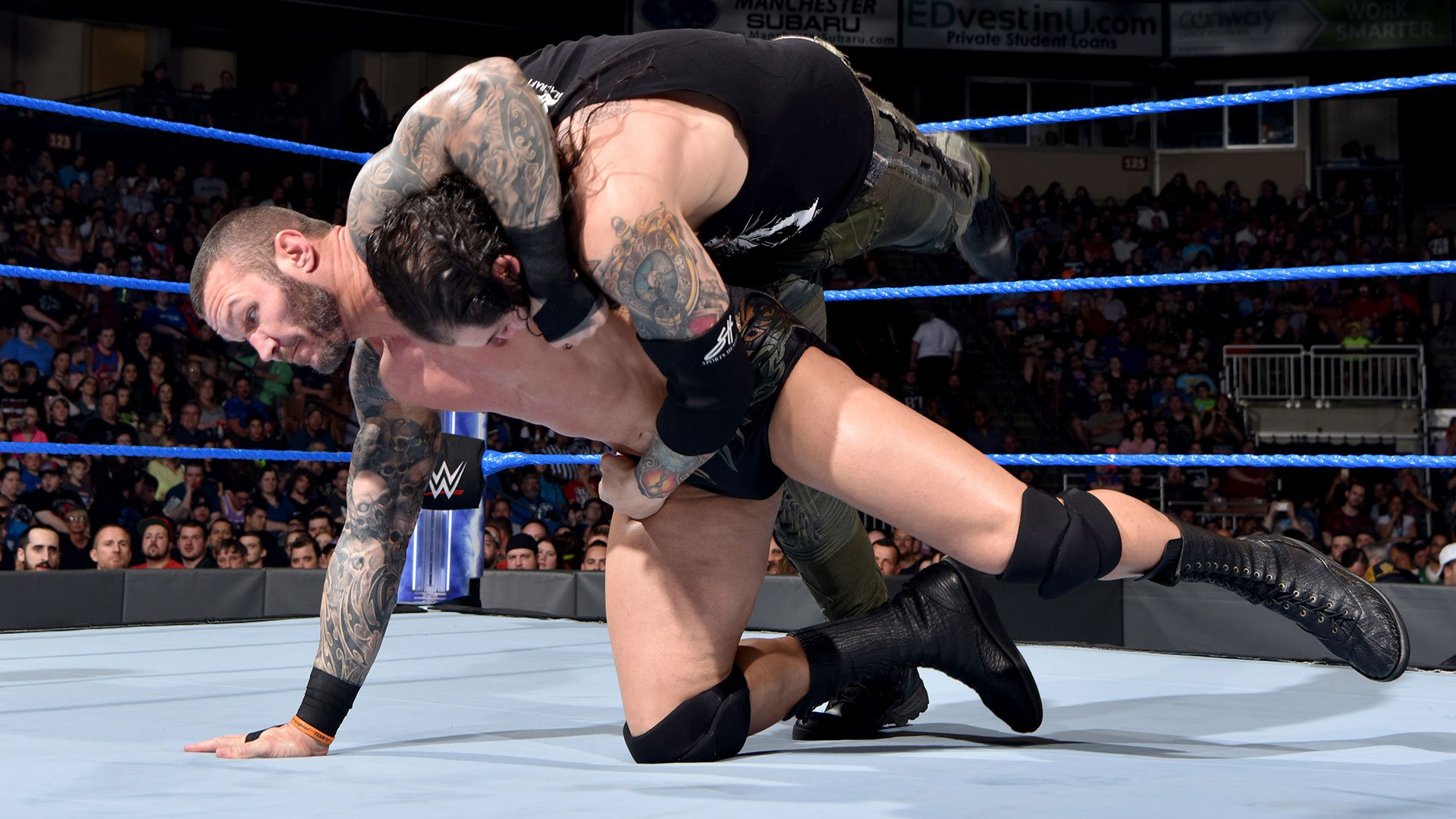 Randy Orton vs. Baron Corbin: SmackDown LIVE, 16 mai 2017