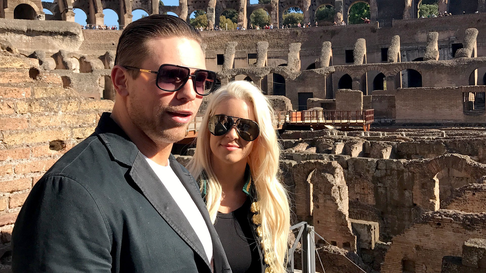 I - Central de Noticias Miz_maryse_rome_colosseum_05022017--3a1386509daeb490b25fc3ba2f4be9fc