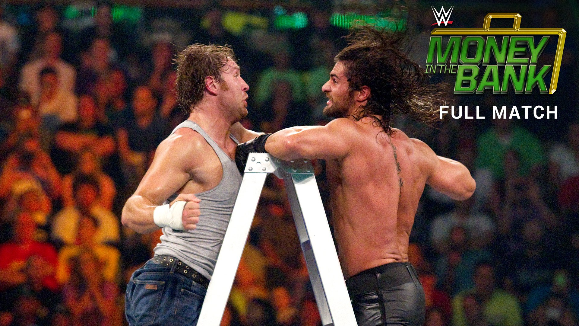Money in the Bank Ladder Match for a WWE World Heavyweight Title Match Contract: Money in the Bank 2014 (Full Match - WWE Network Exclusive)