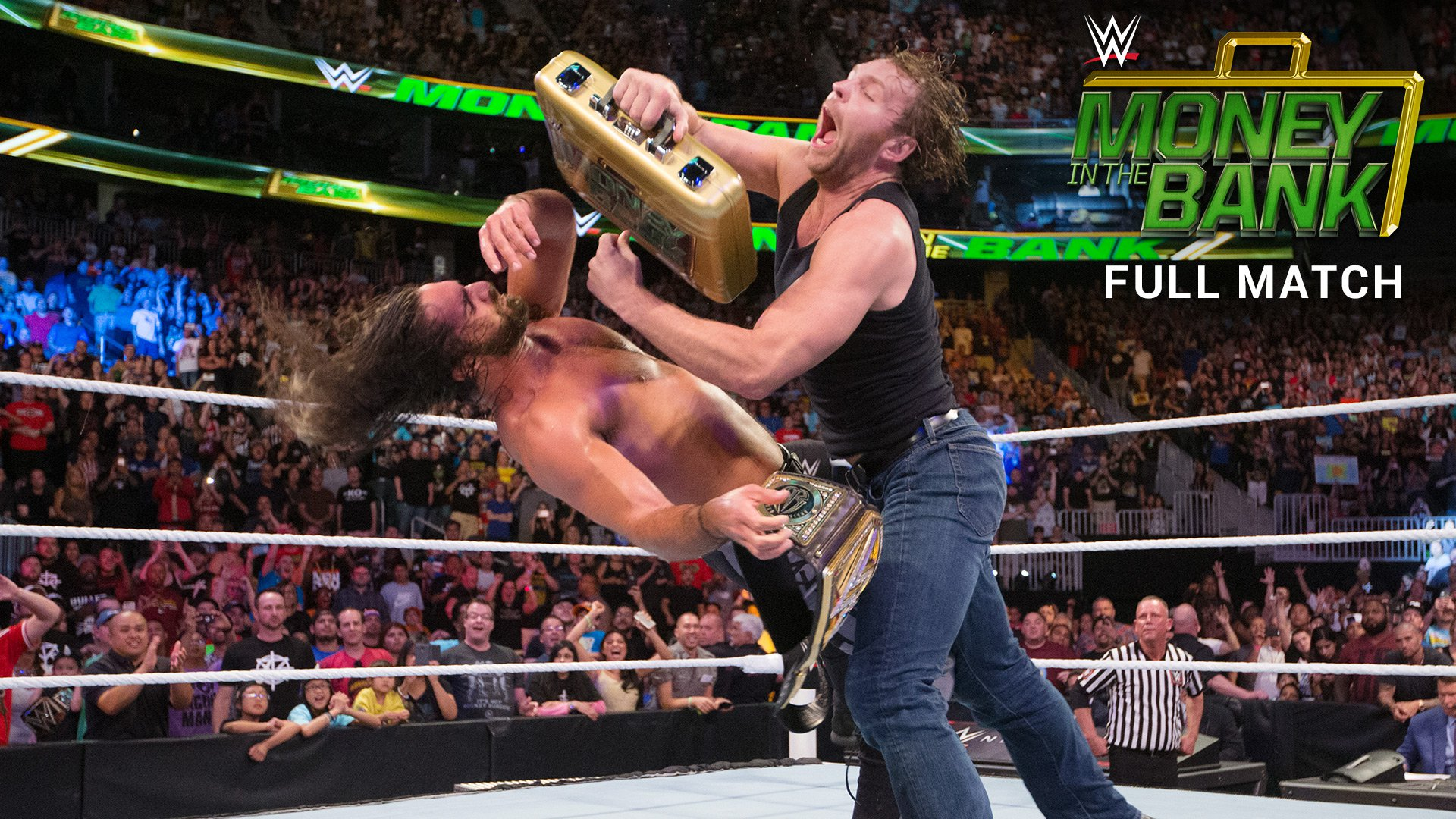 Roman Reigns vs. Seth Rollins - WWE World Heavyweight Title Match: Money in the Bank 2016 (Full Match - WWE Network Exclusive)