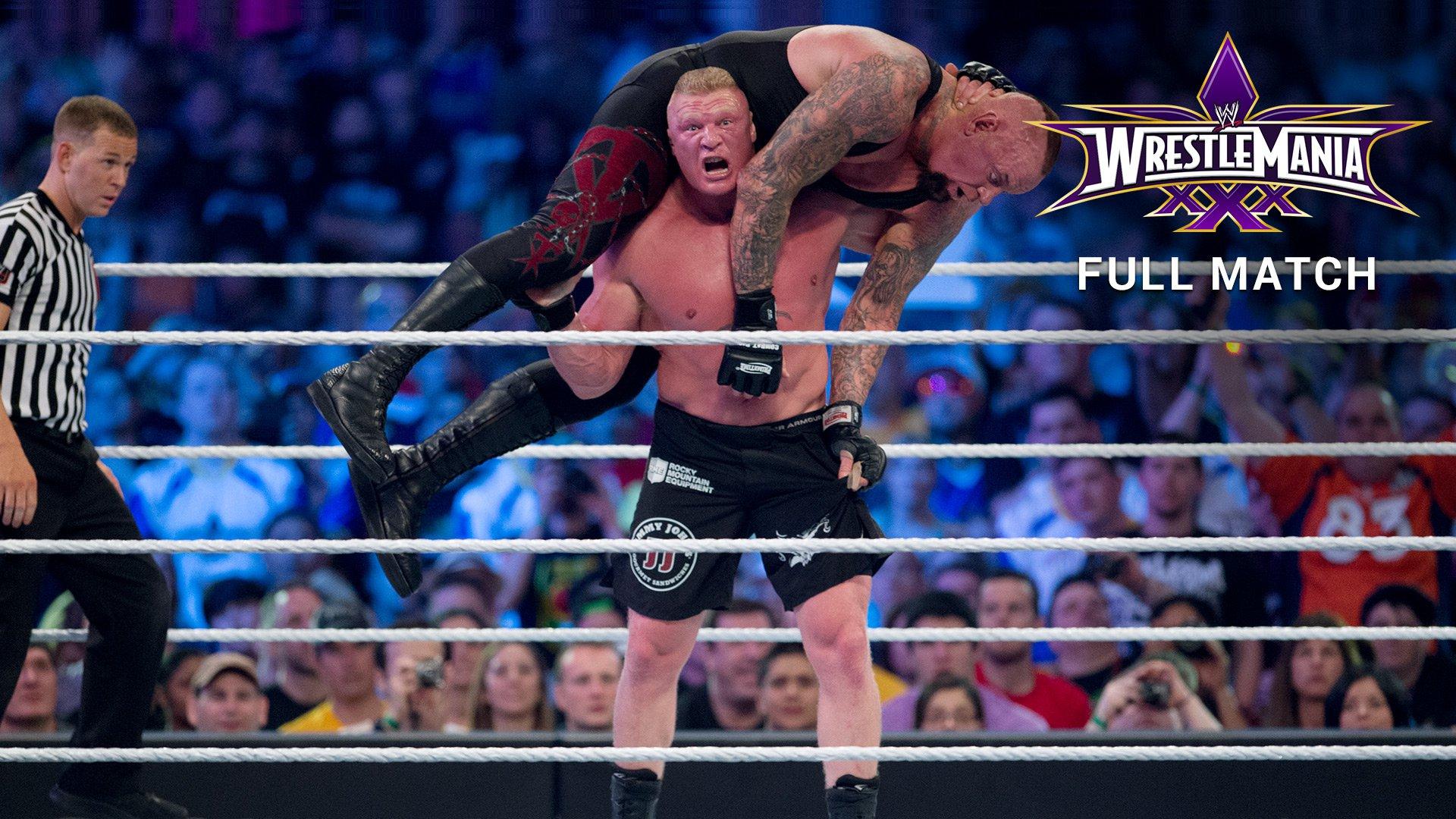 The Undertaker Vs Brock Lesnar