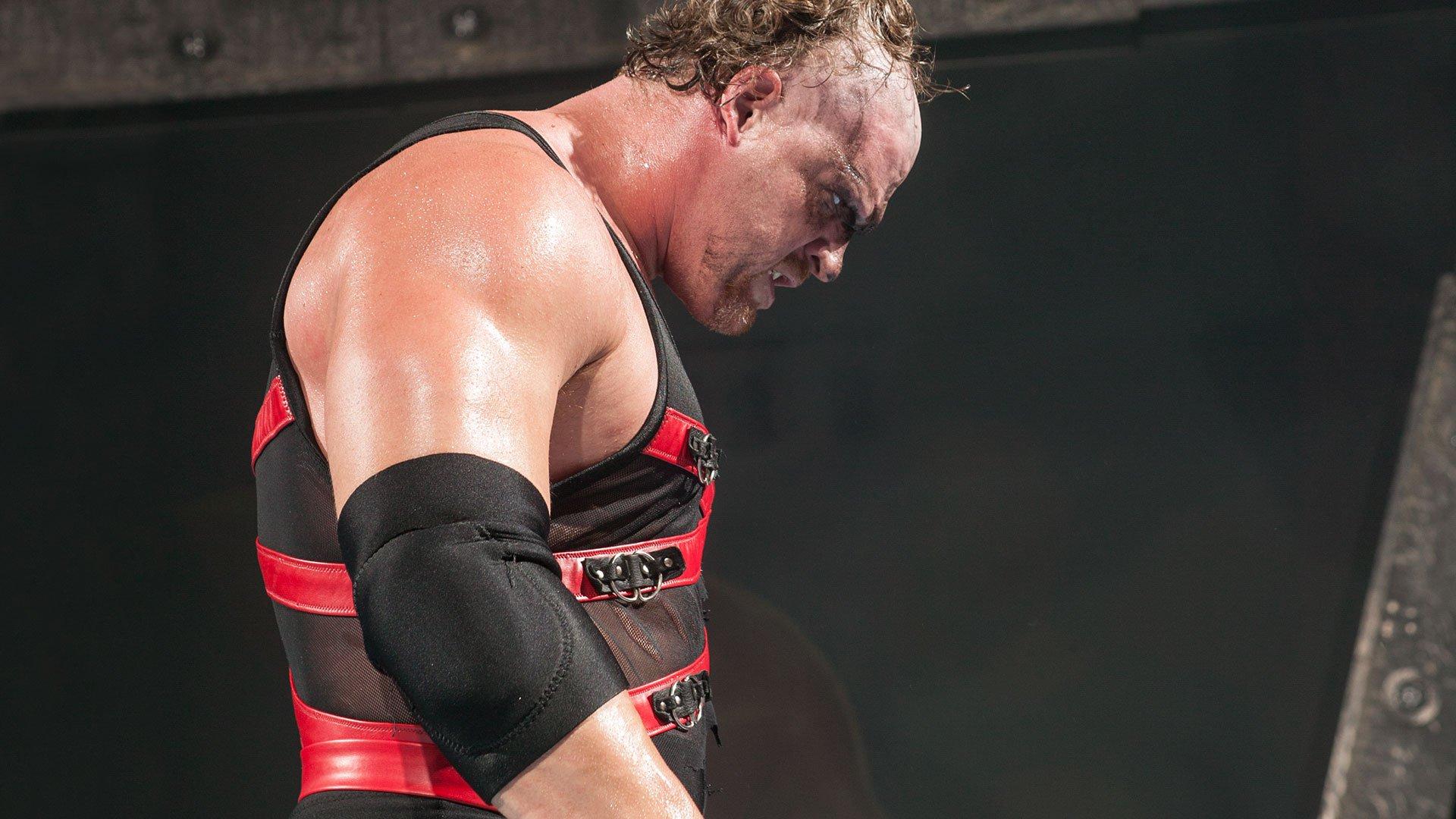 Kane unmasks and attacks Rob Van Dam: Raw, June 23, 2003
