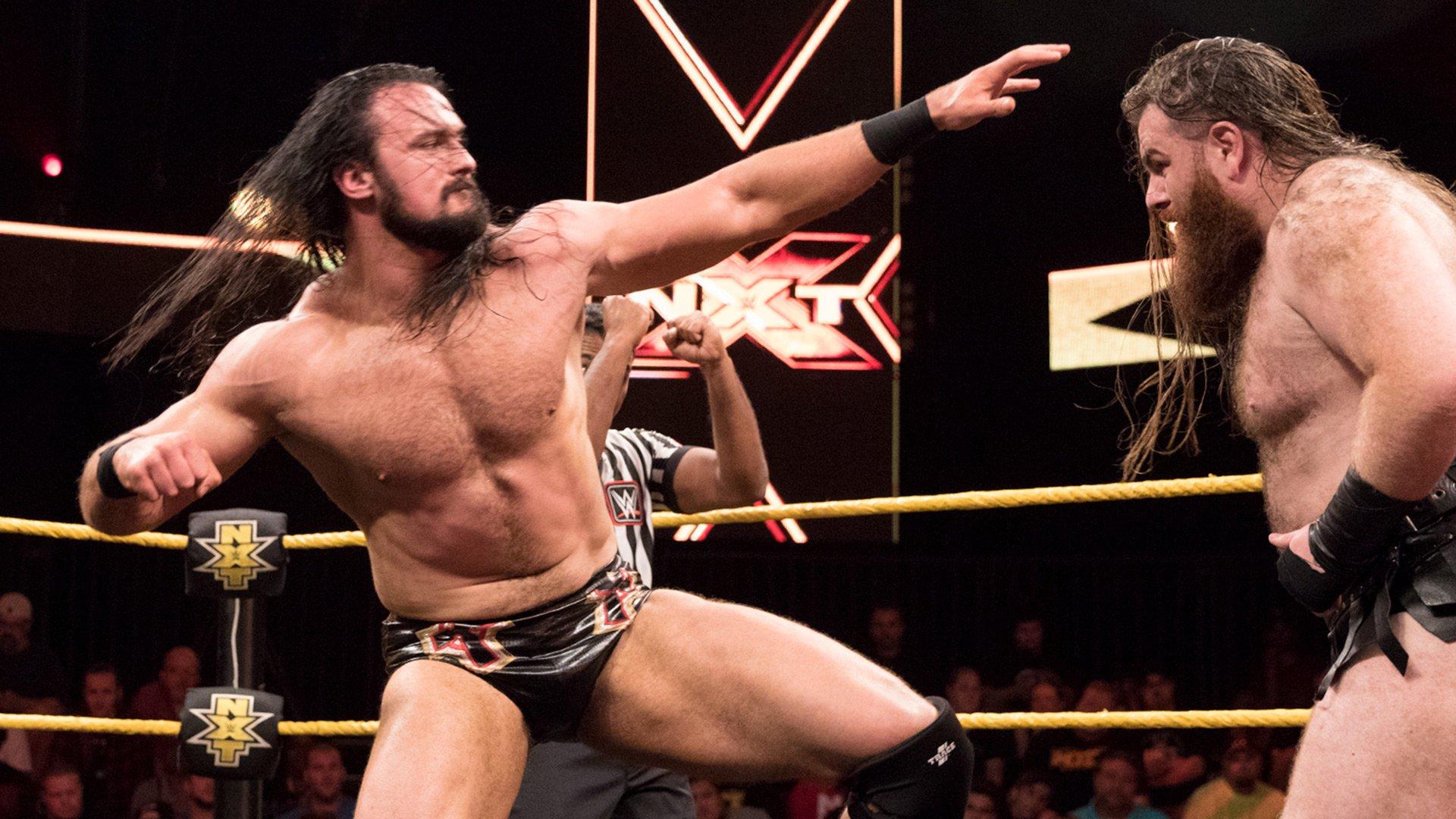 Drew McIntyre vs. Killian Dain: WWE NXT, 19 juillet 2017