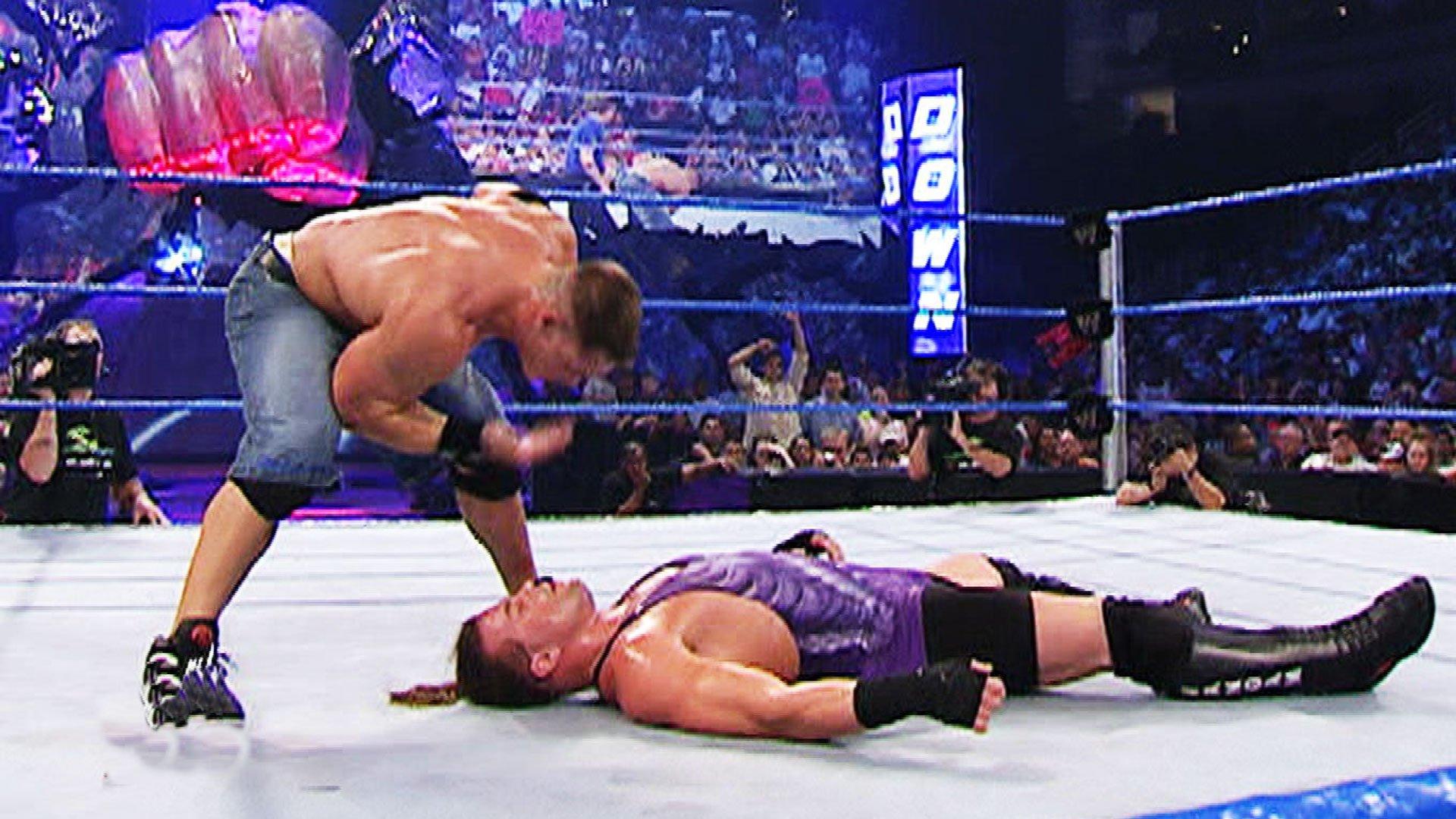 John Cena vs. Rob Van Dam: SmackDown, Aug. 5, 2004