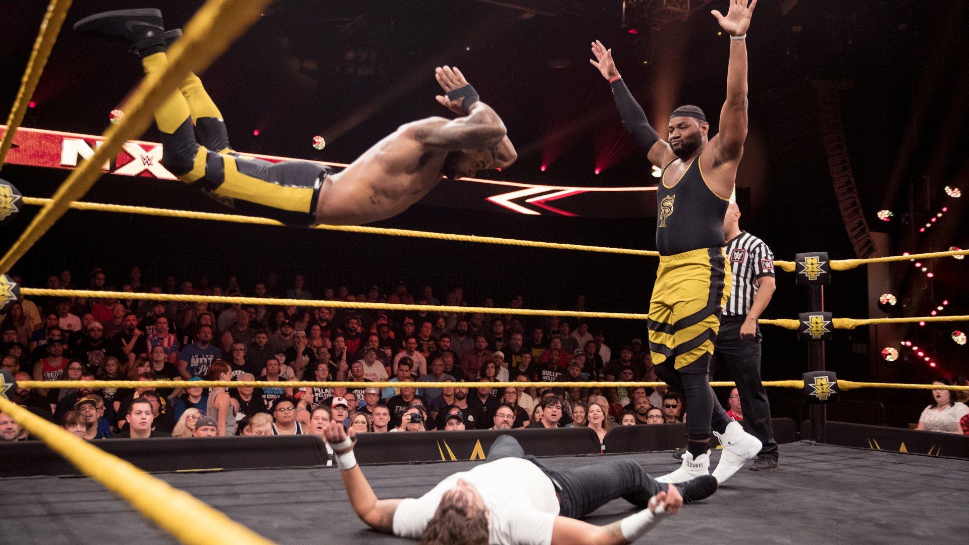 Street Profits vs. Metro Brothers: WWE NXT 09.08.17