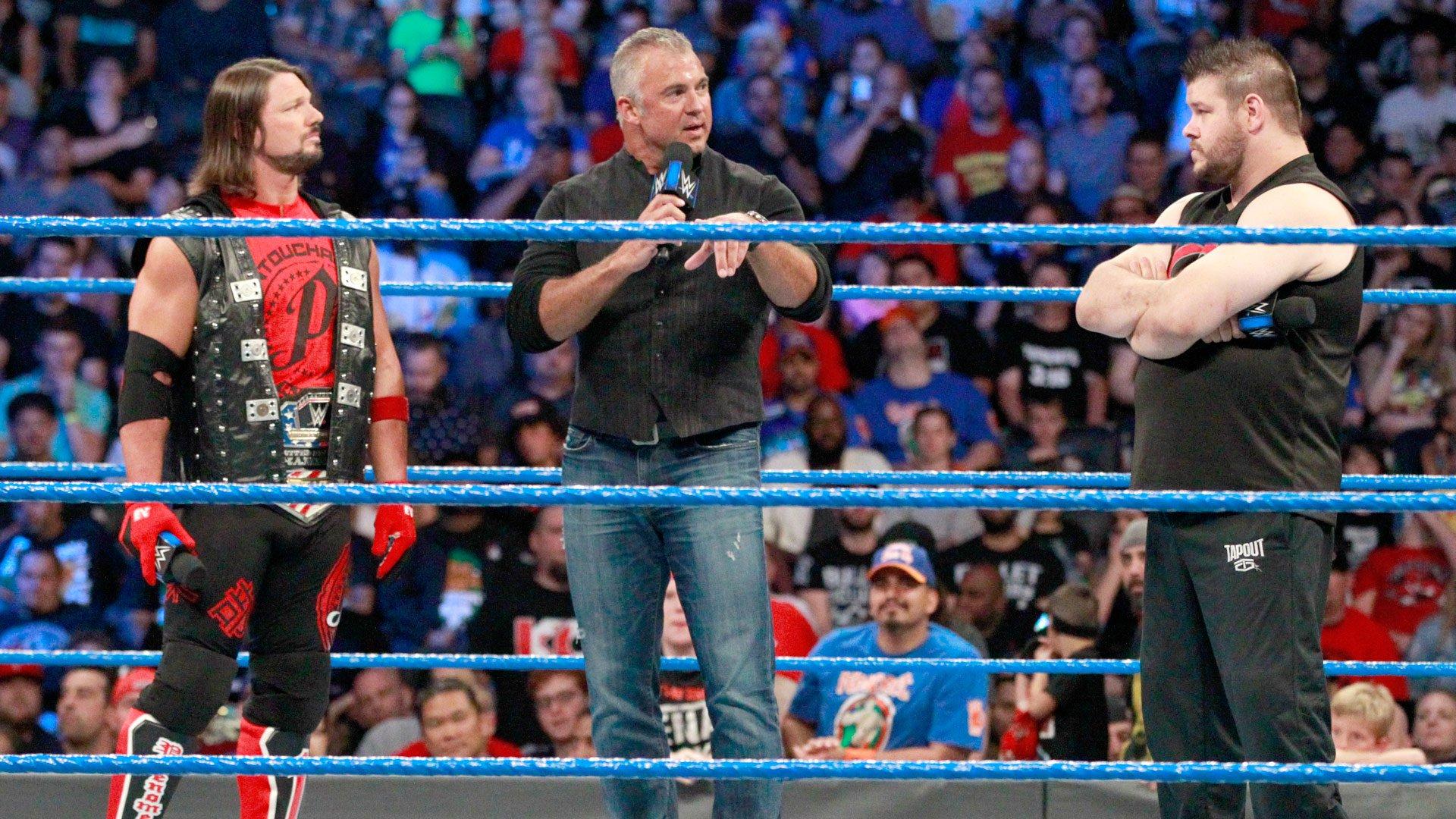 Shane McMahon wyjaśnia zasady: SmackDown LIVE 08.08.17