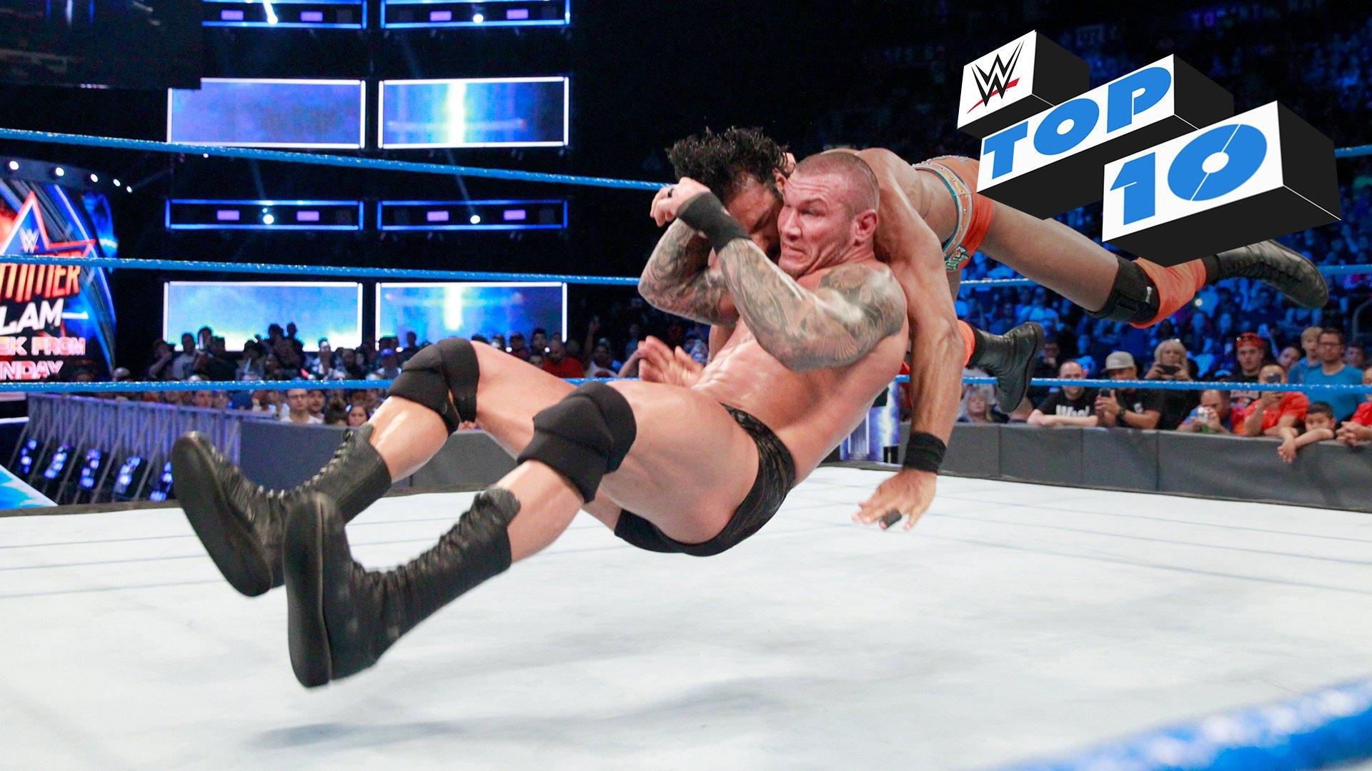Top 10 momentów SmackDown LIVE: WWE Top 10 08.08.17