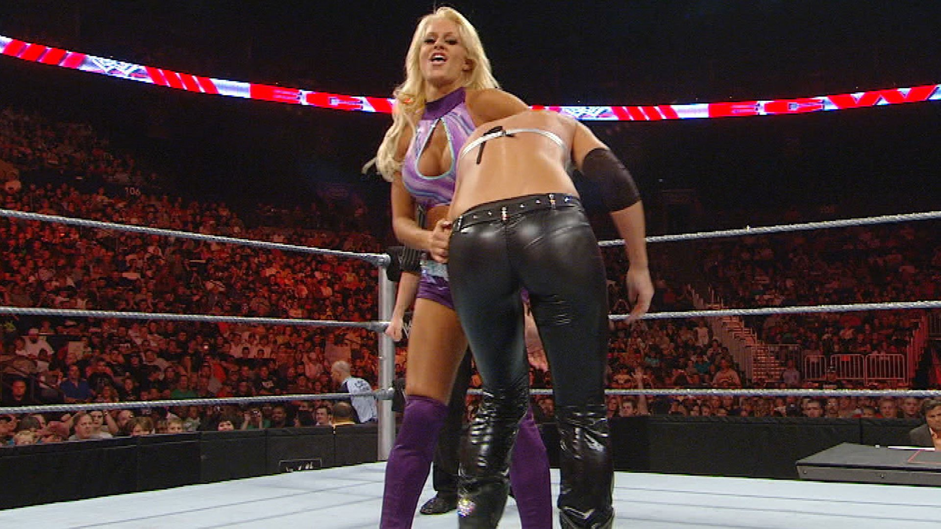 Michelle McCool vs. Maryse: ECW, Sept. 23, 2008 (WWE Network Exclusive)