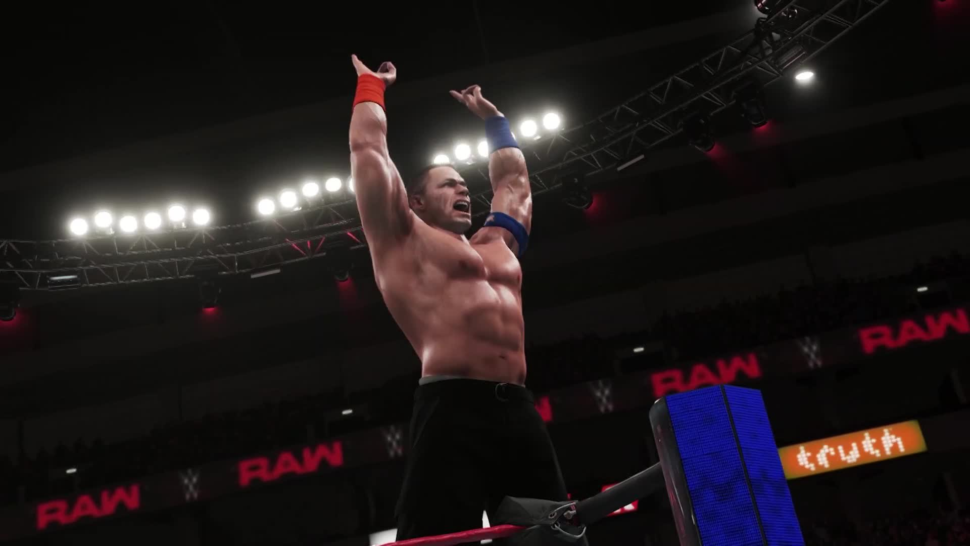 WWE 2K18 first official gameplay trailer
