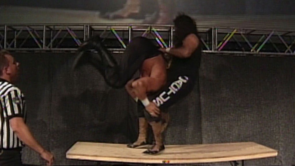 Image result for cactus jack vs triple h 1997