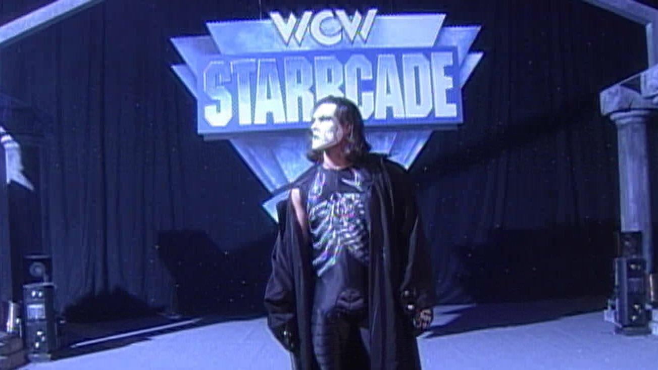 Sting Wrestlemania Entrance