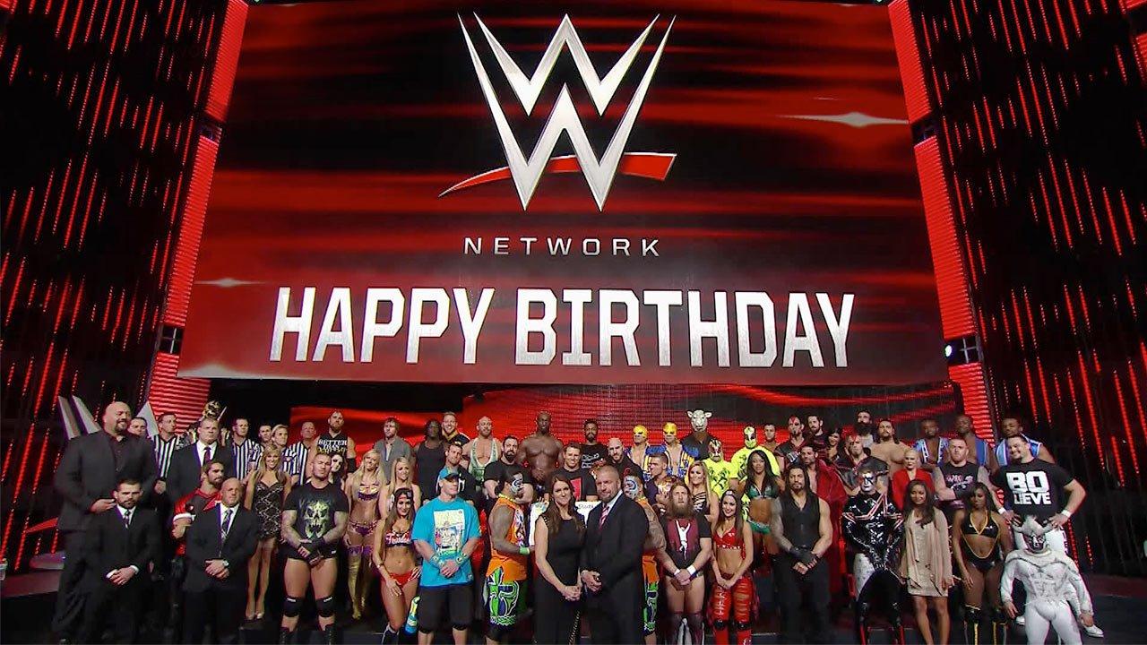WWE Superstars and Diva wish WWE Network a happy birthday WWE