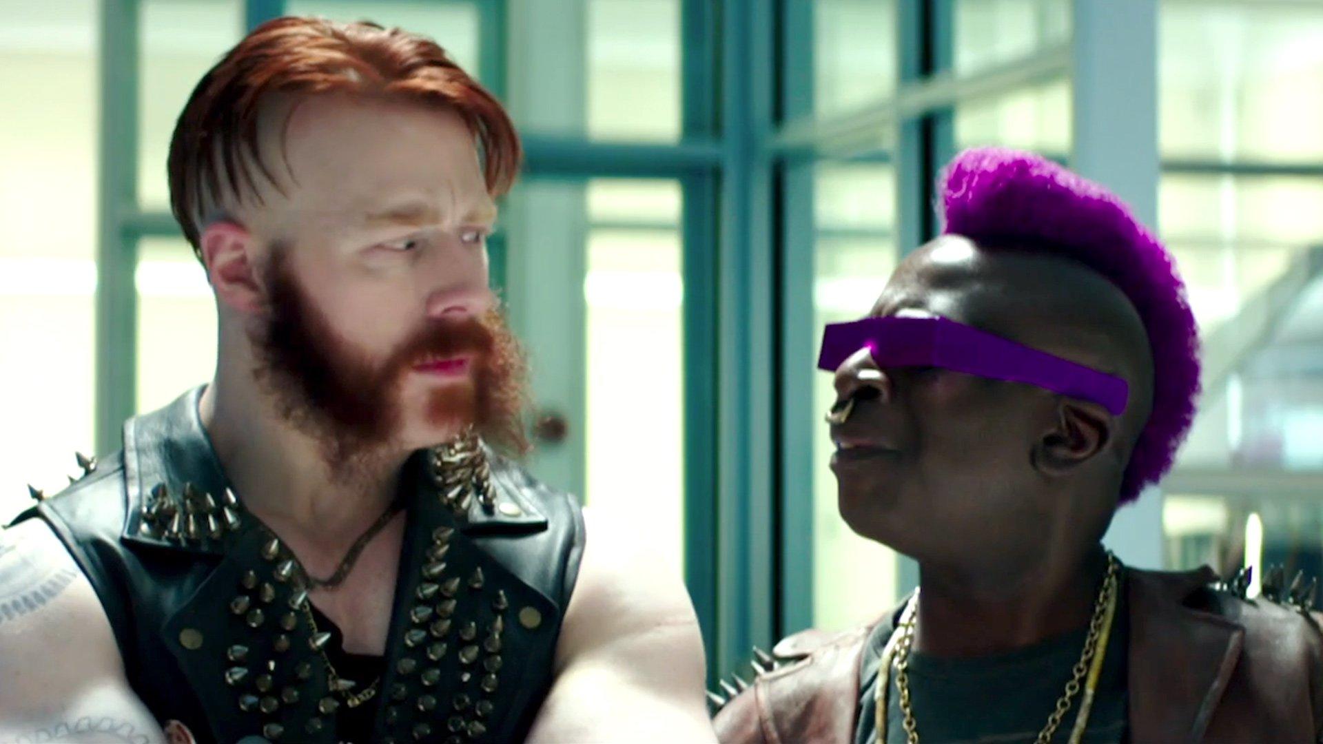 See Sheamus As Rocksteady In Teenage Mutant Ninja Turtles Out Of