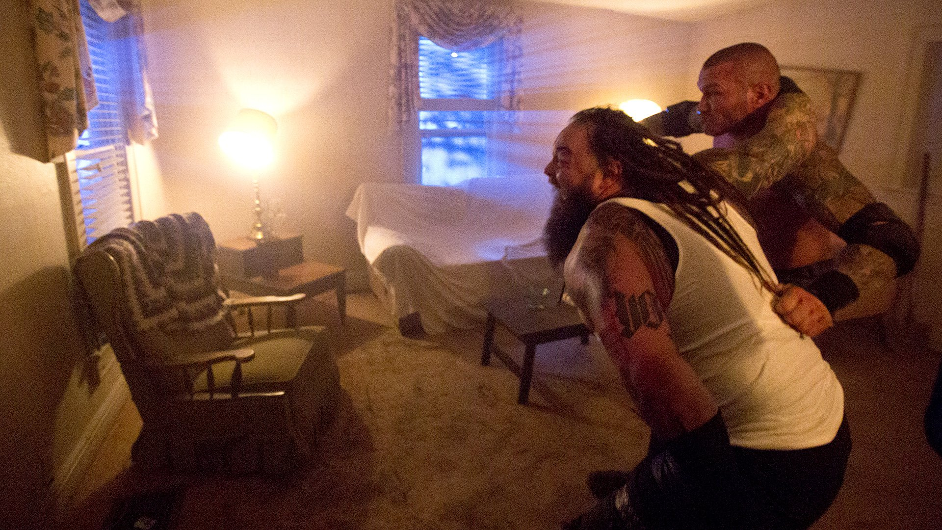 Randy Orton vs. y Wyatt - House of Horrors Match: WWE Payback ... on christmas mobile al, top 20 biggest house in al, boykin mobile al, theodore high school mobile al, haunted house mobile al,