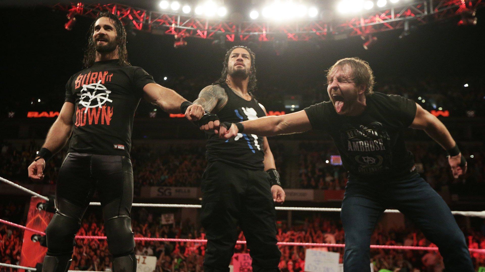 The Shield Reunite 2017 Roman Reigns Dean Ambrose Seth Rollins