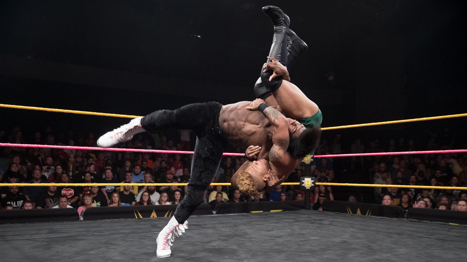 Lio Rush vs. The Velveteen Dream: WWE NXT, 11 Octobre 2017.