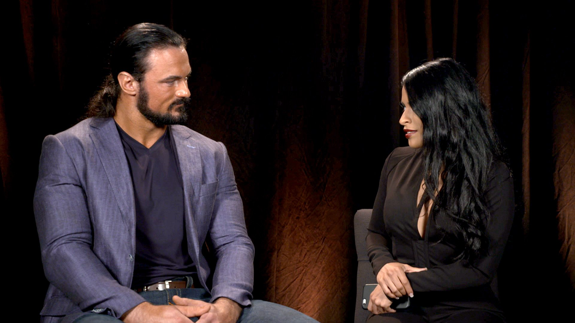 "Zelina Vega says Andrade ""Cien"" Almas is NXT Champion Drew McIntyre's biggest threat: WWE NXT, Oct. 18, 2017"