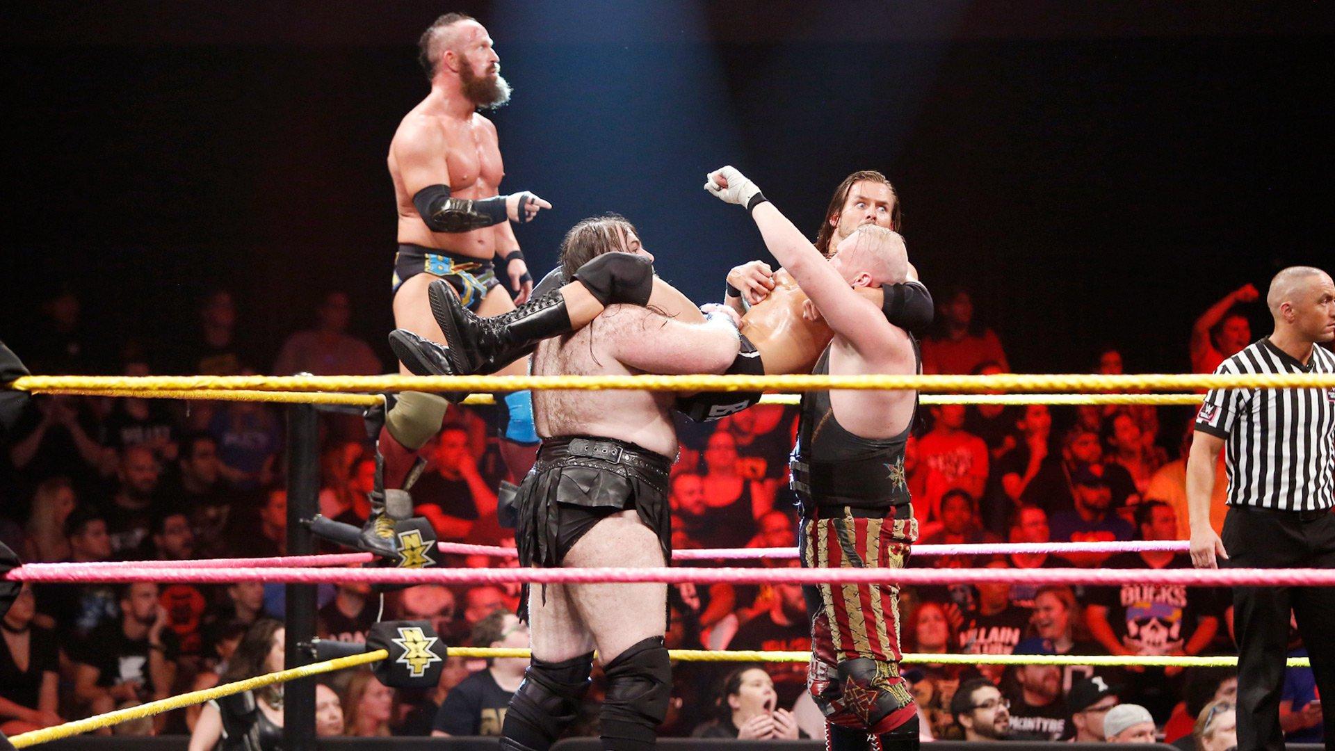 SAnitY vs. The Undisputed ERA: WWE NXT, Oct. 18, 2017
