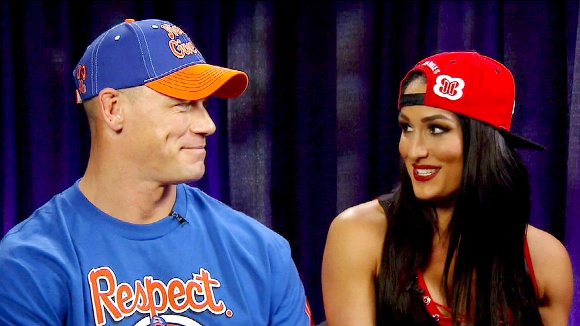 John Cena and Nikki Bella talk WrestleMania on ESPN\'s \