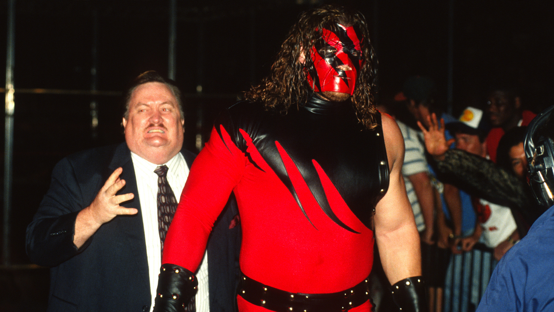 Kane makes his WWE debut: In Your House: Badd Blood