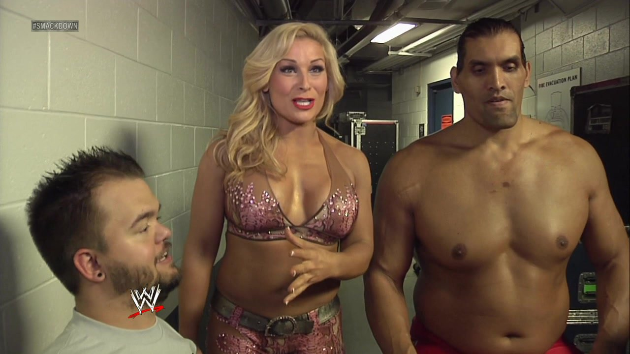 Natalya dating great khali