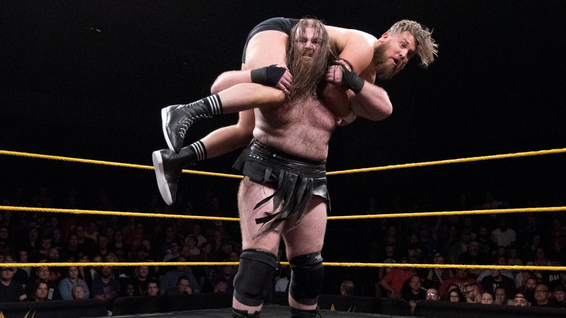 Killian Dain vs. Trent Seven: WWE NXT, 6 Décembre 2017.
