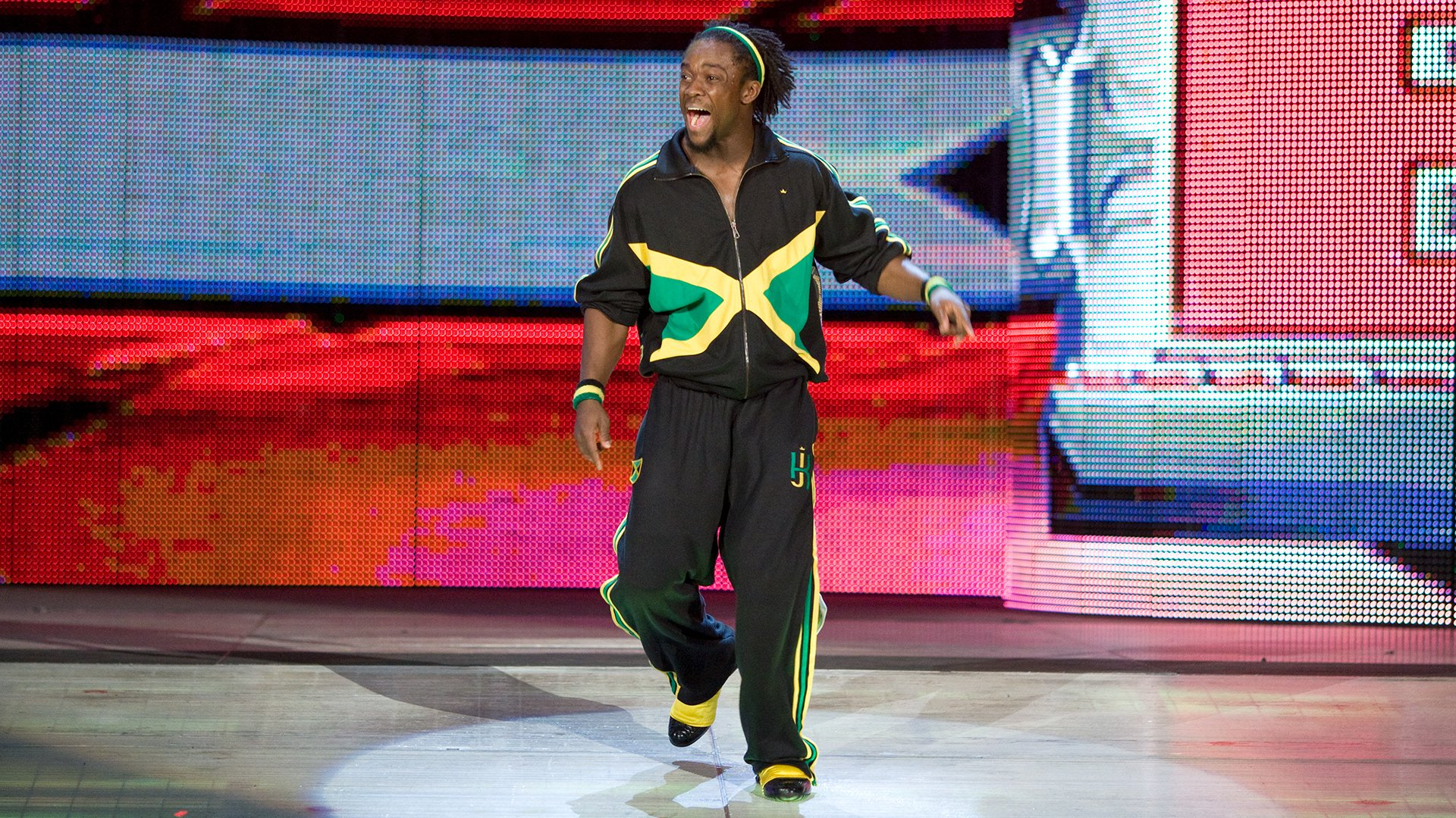Kofi Kingston vs. David Owen: ECW, 22 Janvier 2008.