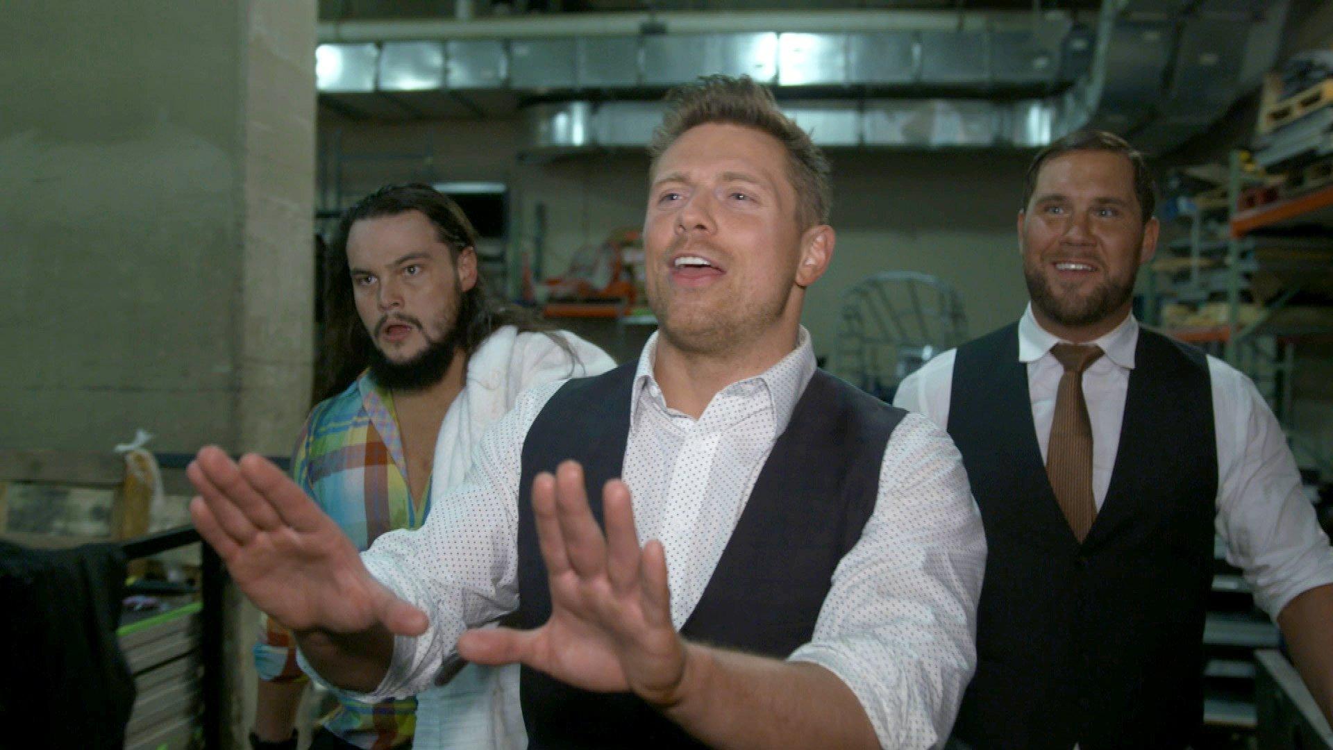 "The MIz and The Miztourage say ""hi"" to Roman Reigns: WWE.com Exclusive, Jan. 8, 2018"