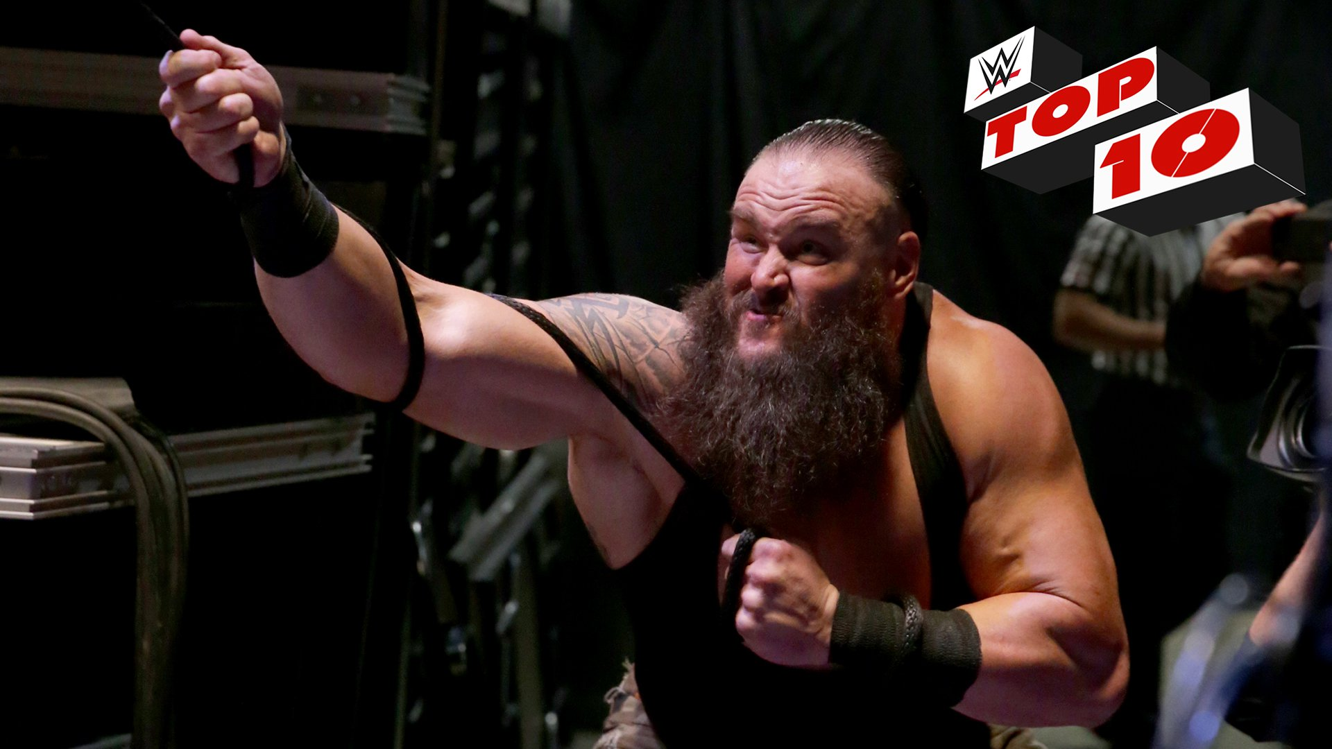 Top 10 Raw moments: WWE Top 10,  8 Janvier 2018.