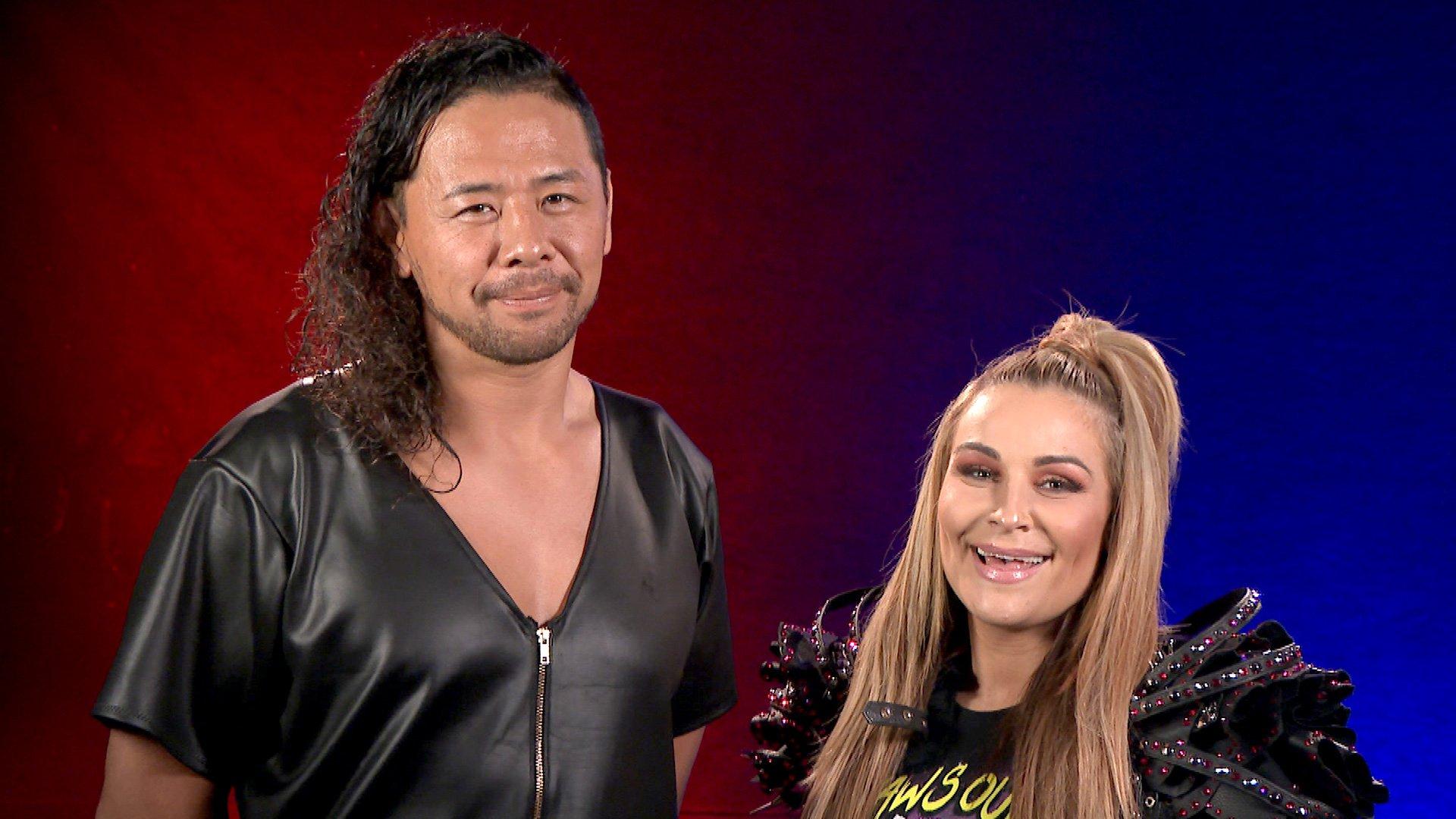 Shinsuke Nakamura & Natalya combattent pour Make-A-Wish au Mixed Match Challenge
