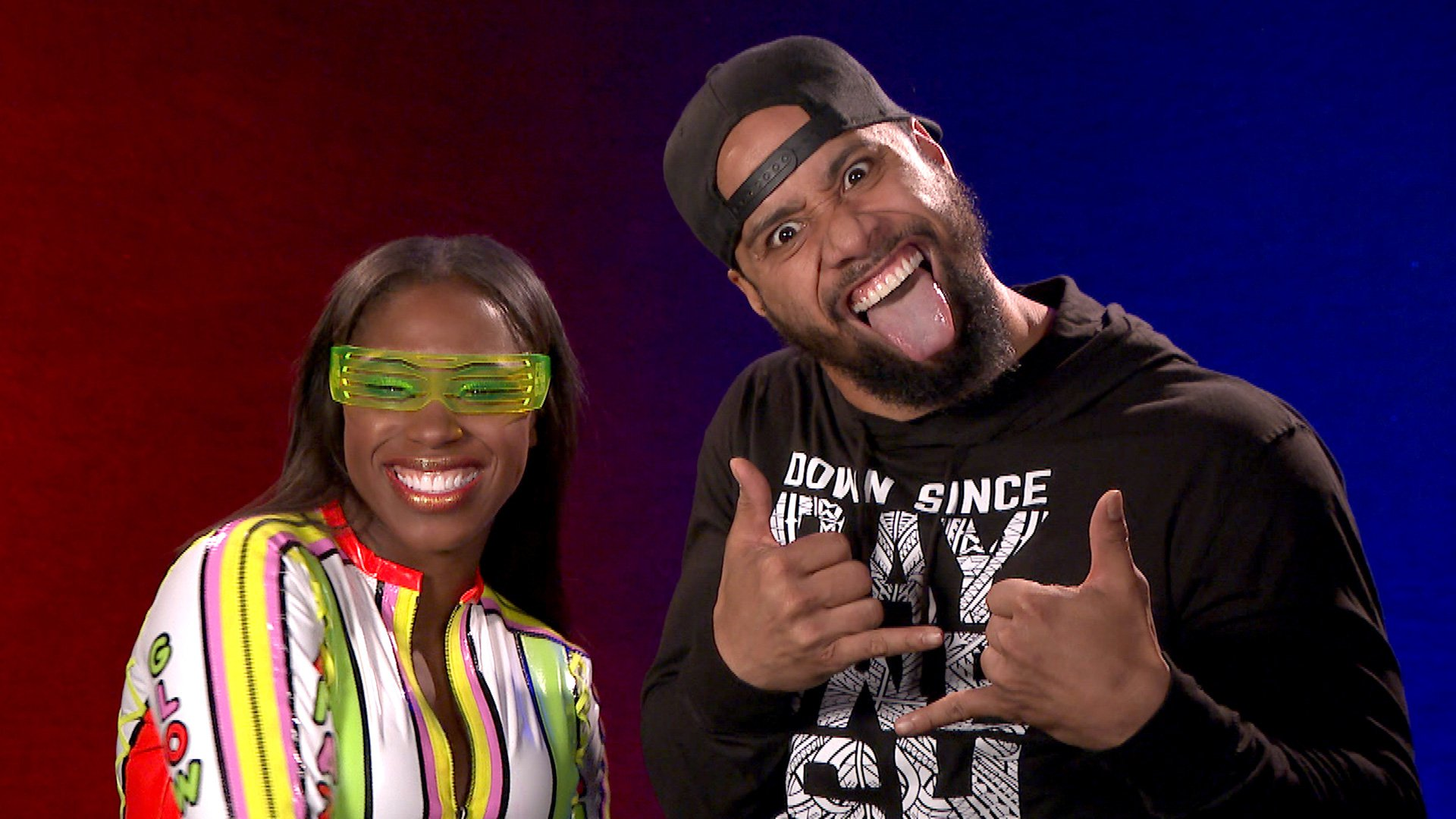 Jimmy Uso & Naomi fiers de représenter Boys & Girls Clubs of America au WWE Mixed Match Challenge