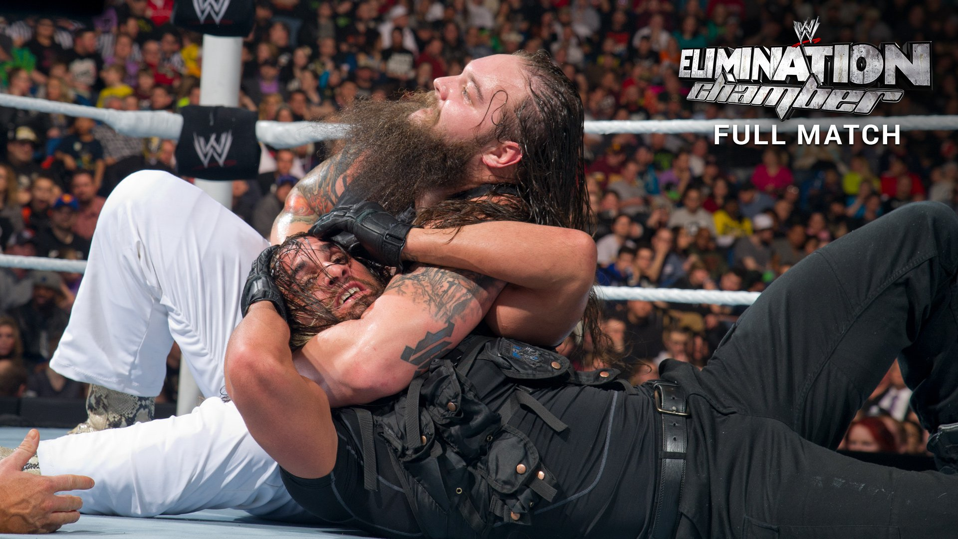 The Wyatt Family vs. The Shield - 3 contre 3: Elimination Chamber 2014 (Match Intégral - Exclusivité WWE Network)