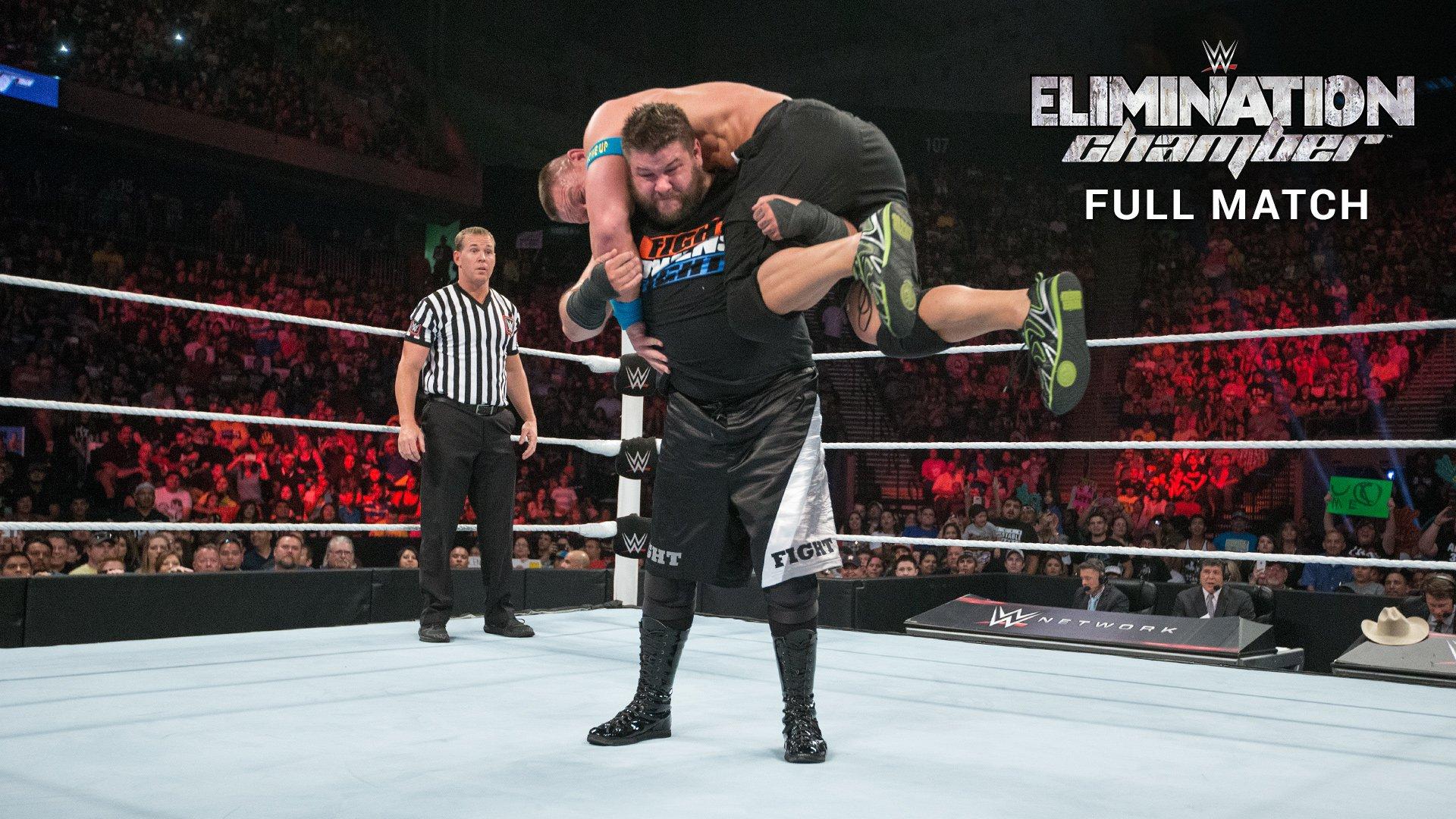 John Cena vs. Kevin Owens - Match Champion vs. Champion: Elimination Chamber 2015 (Match Intégral - Exclusivité WWE Network)
