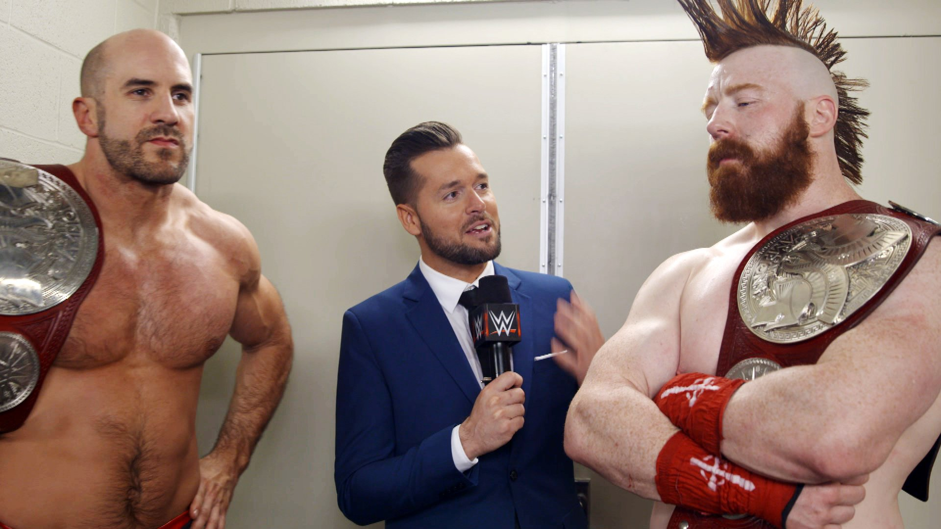 Cesaro Sheamus Declare All Of Their Challengers Lack Bravery Wwe