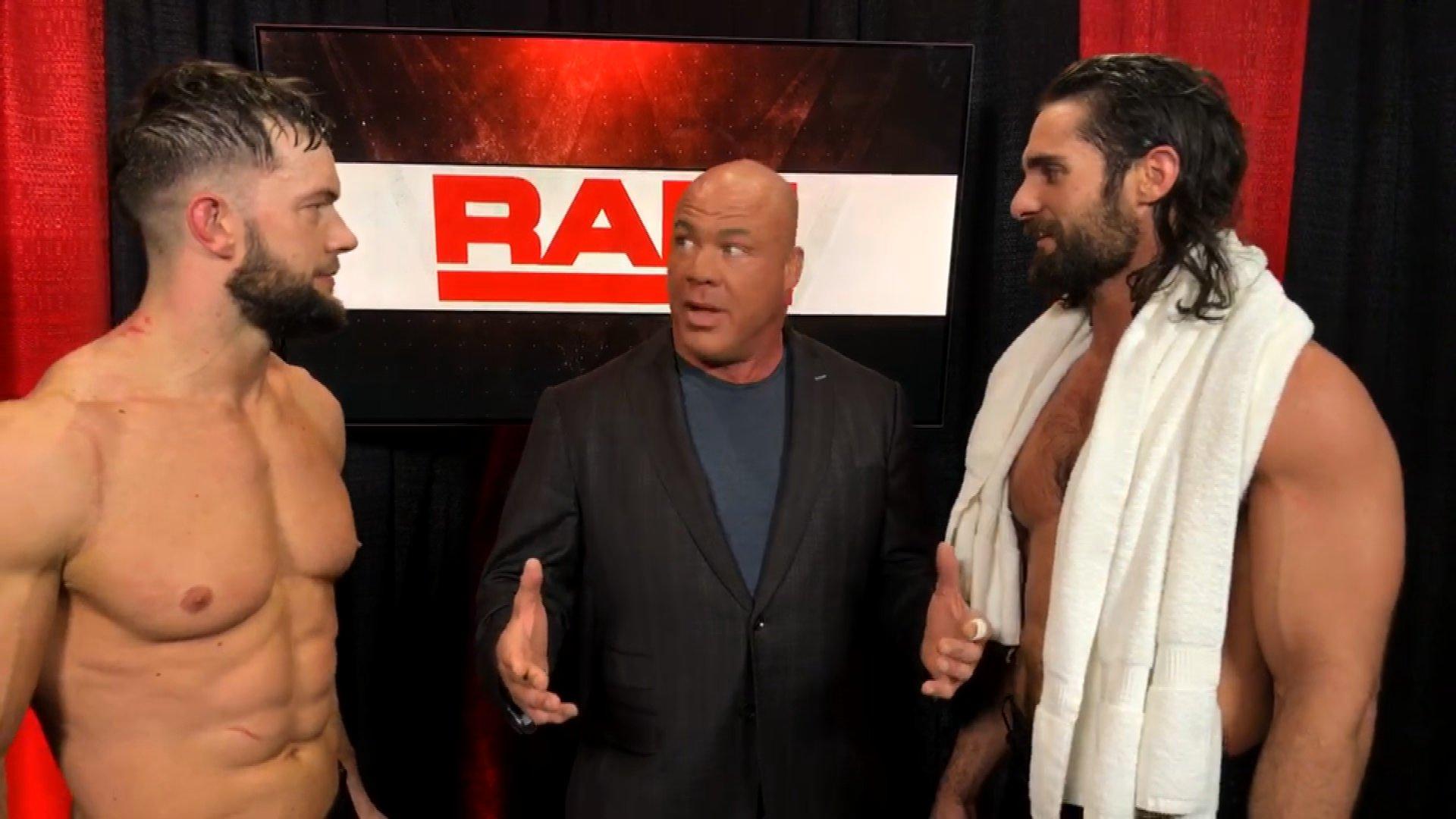 Le MG de Raw Kurt Angle prend une décision historique pour le Match Elimination Chamber des Hommes: Exclusivité WWE.fr, 12 Février 2018.