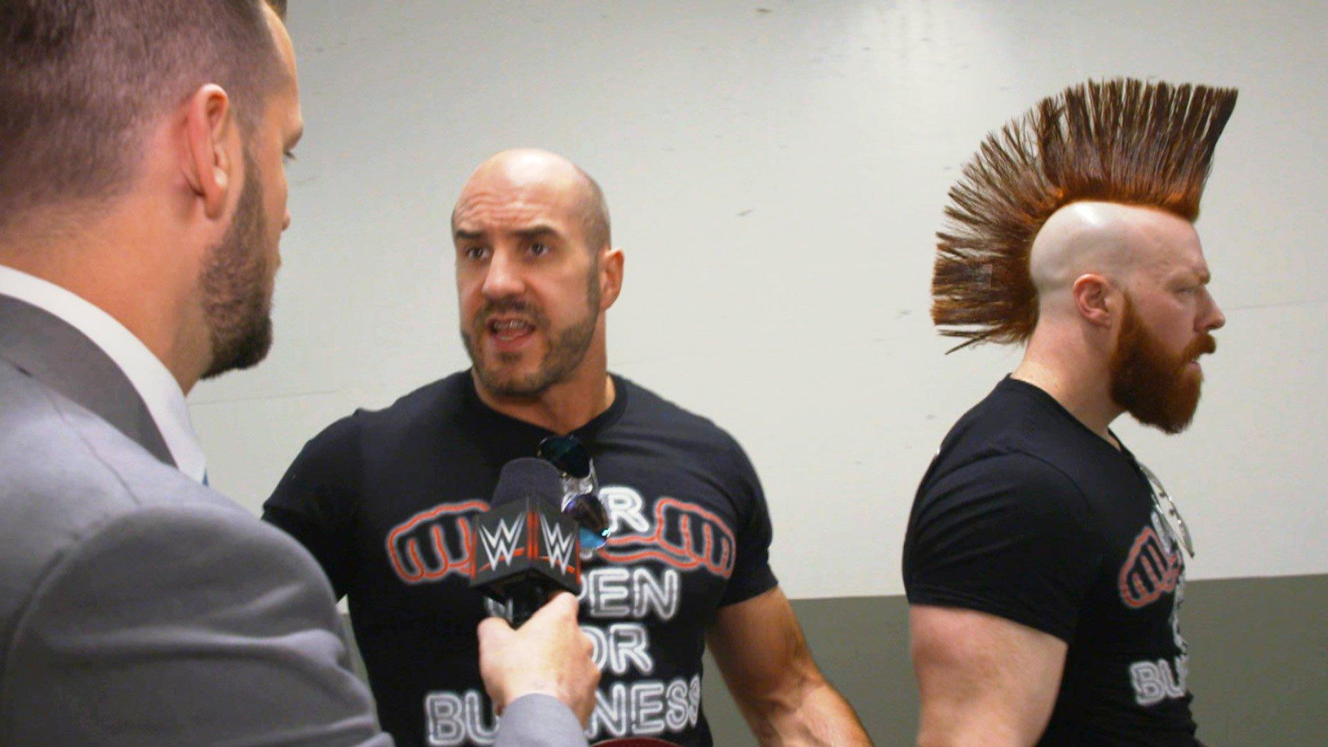Cesaro & Sheamus ne réalisent pas la victoire de Braun Strowman dans cette bataille royale: Exclusivité WWE.fr, 12 Mars 2018.