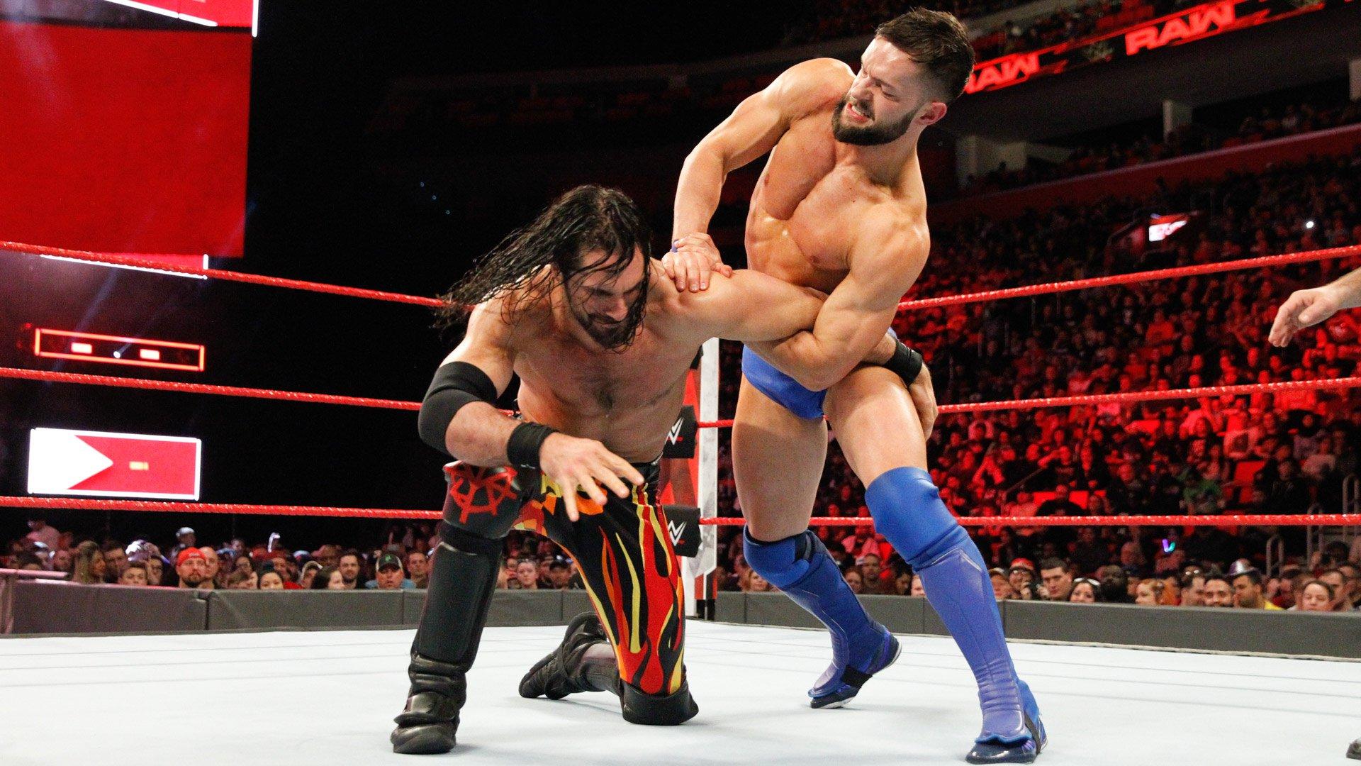 Seth Rollins vs. Finn Bálor: Raw, 12 Mars 2018.