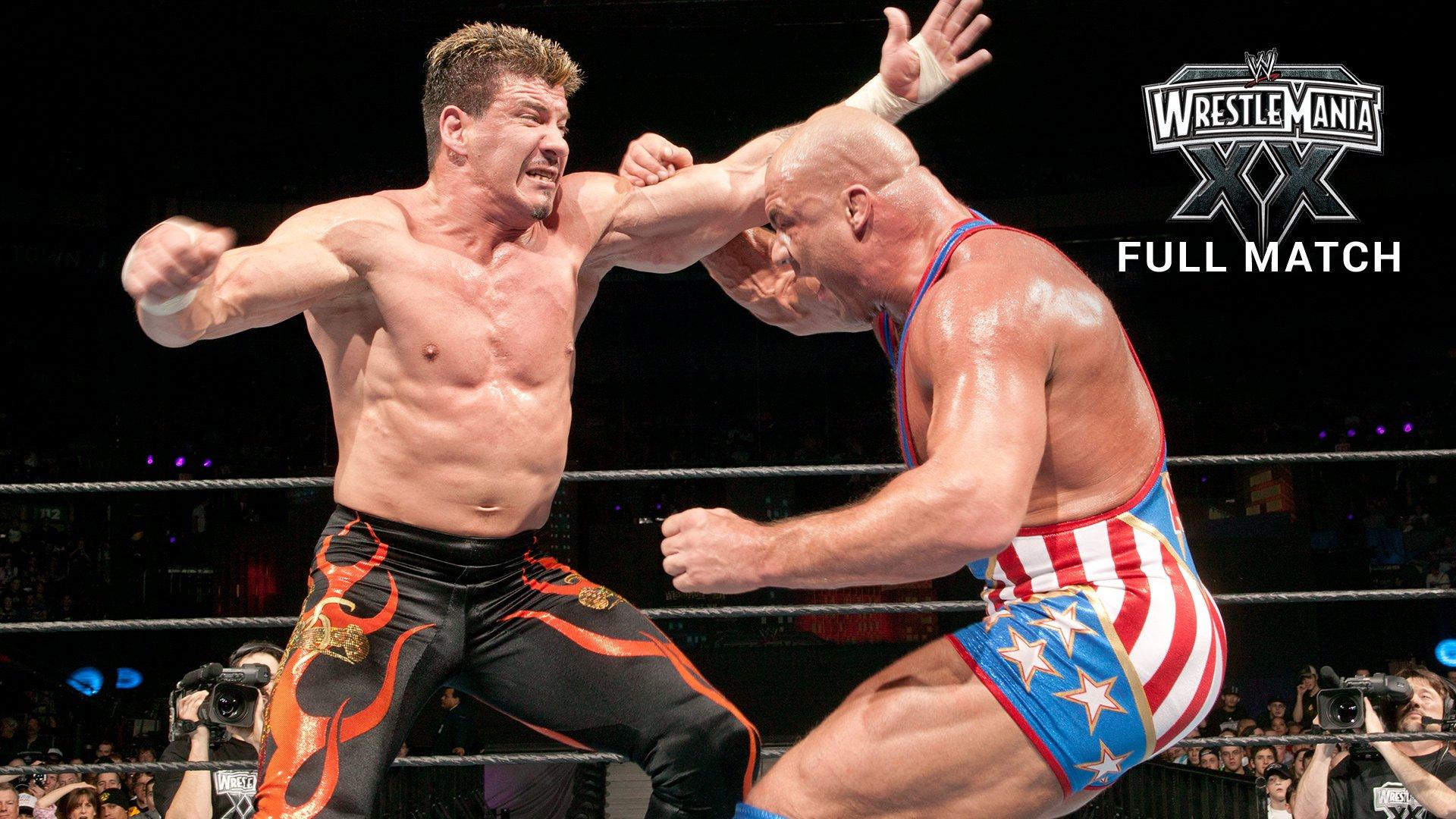Eddie Guerrero vs. Kurt Angle - Match pour le Championnat WWE: WrestleMania XX (Match Intégral - Exclusivité WWE Network)