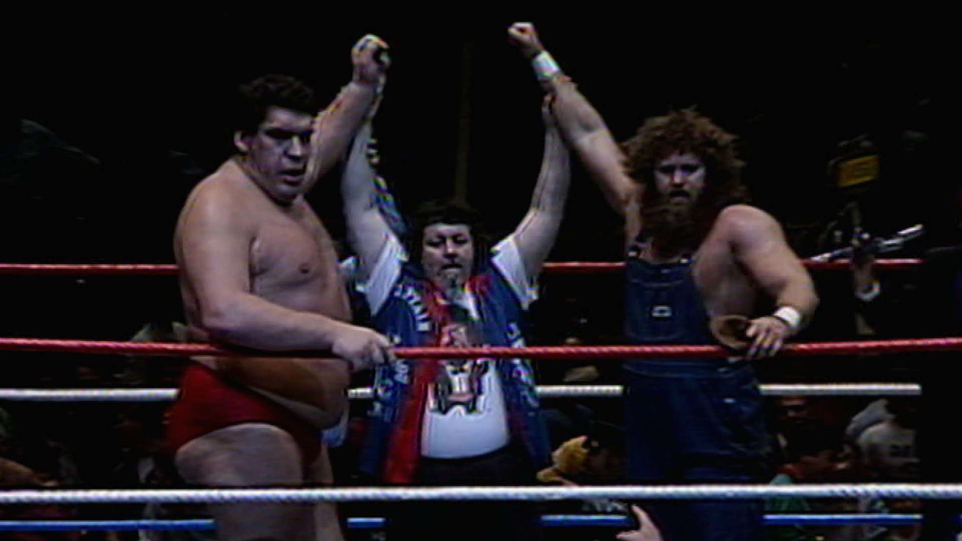 Hillbilly Jim, Andre the Giant & Captain Lou Albano vs. Big John Studd, King Kong Bundy & Bobby Heenan: Madison Square Garden, 25 Novembre 1985