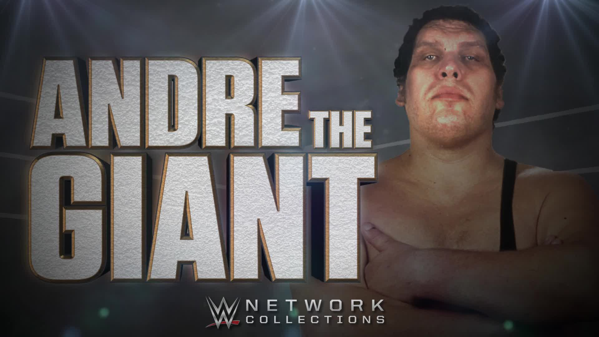 Andre The Giant (Collection WWE Network)