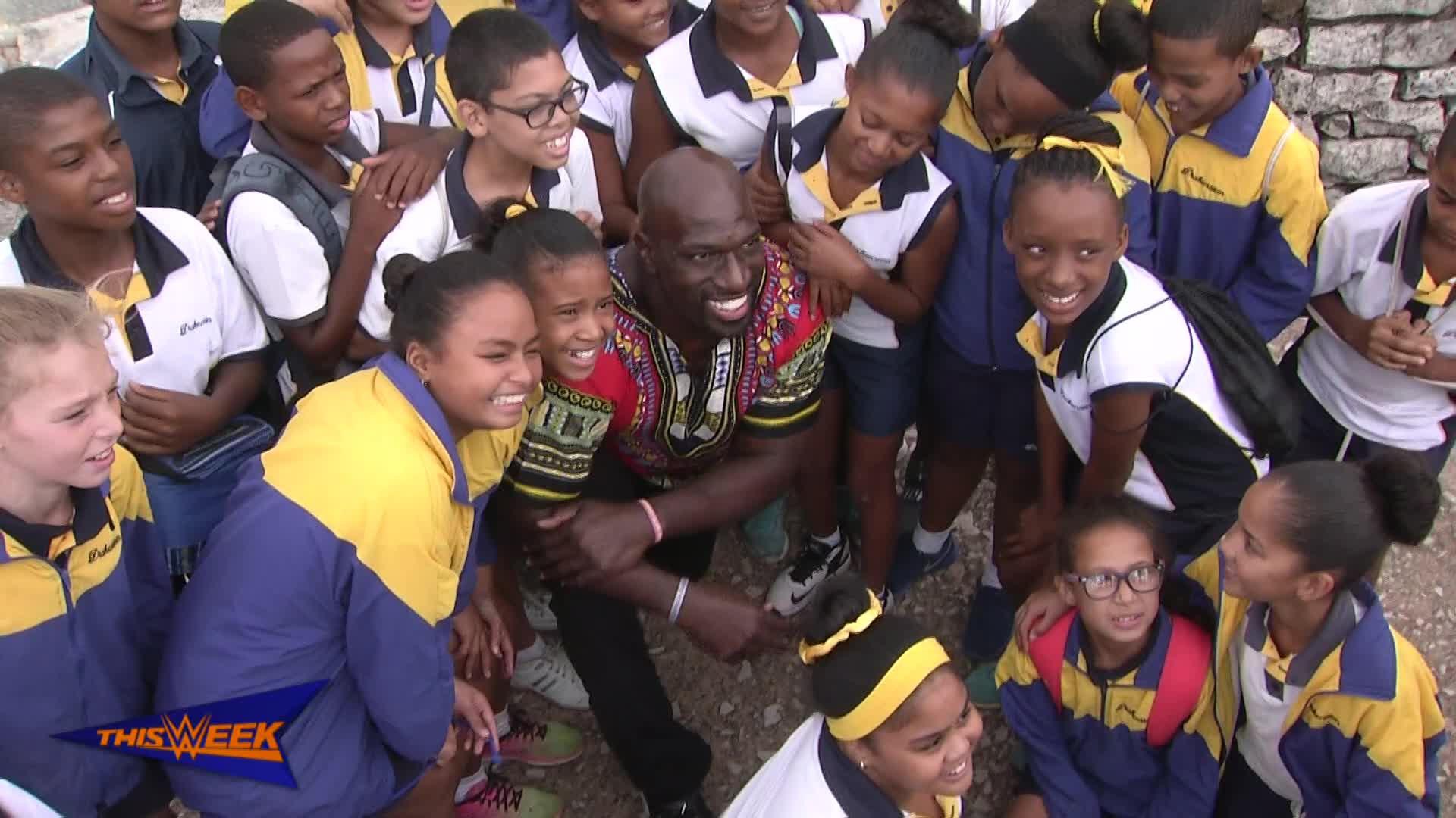 Titus O'Neil et son incroyable séjour en Afrique du Sud.