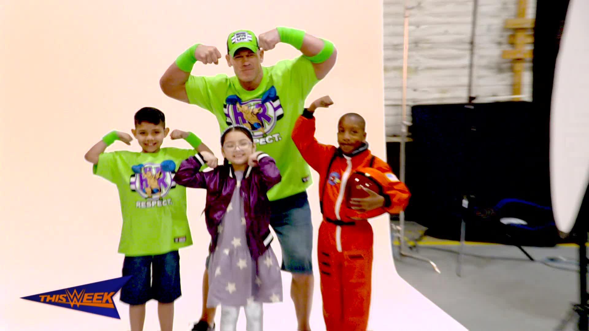Dans les coulisses du nouveau Make-A-Wish de John Cena,