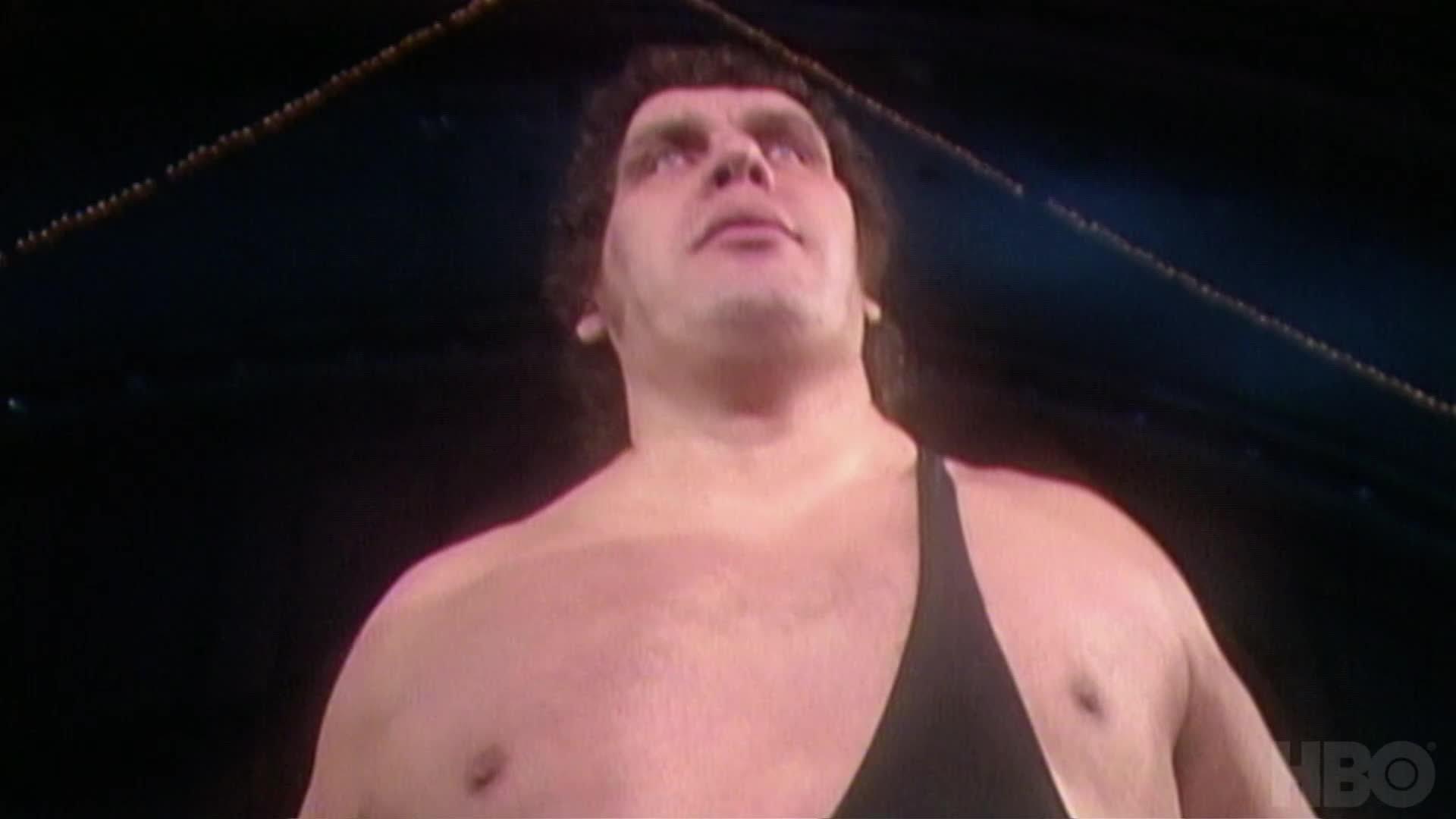 """Regardez cette nuit à 4h du matin """"Andre the Giant"""" sur HBO"""