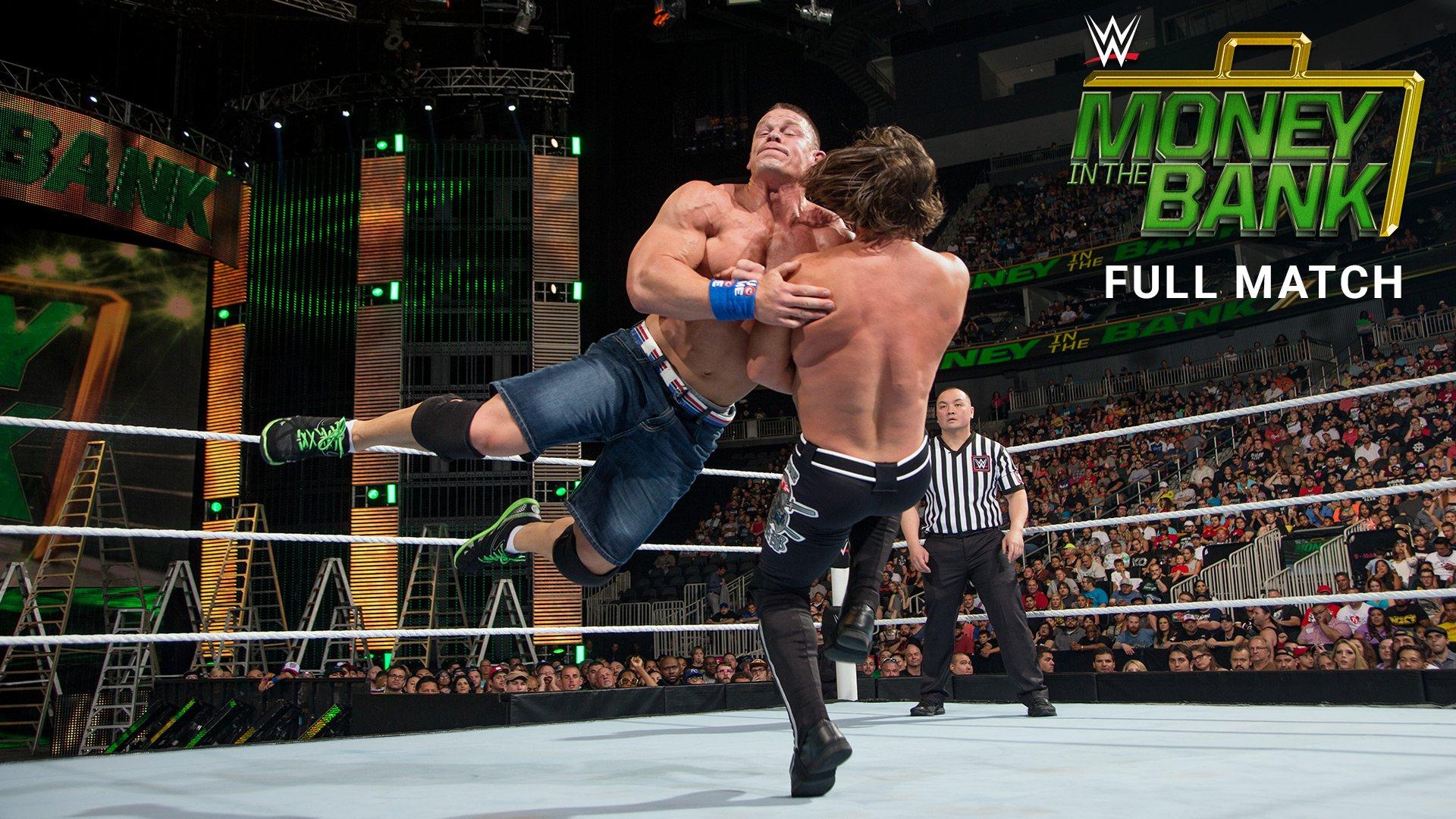 John Cena vs. AJ Styles: WWE Money in the Bank 2016 (Match intégral - Exclusivité WWE Network)
