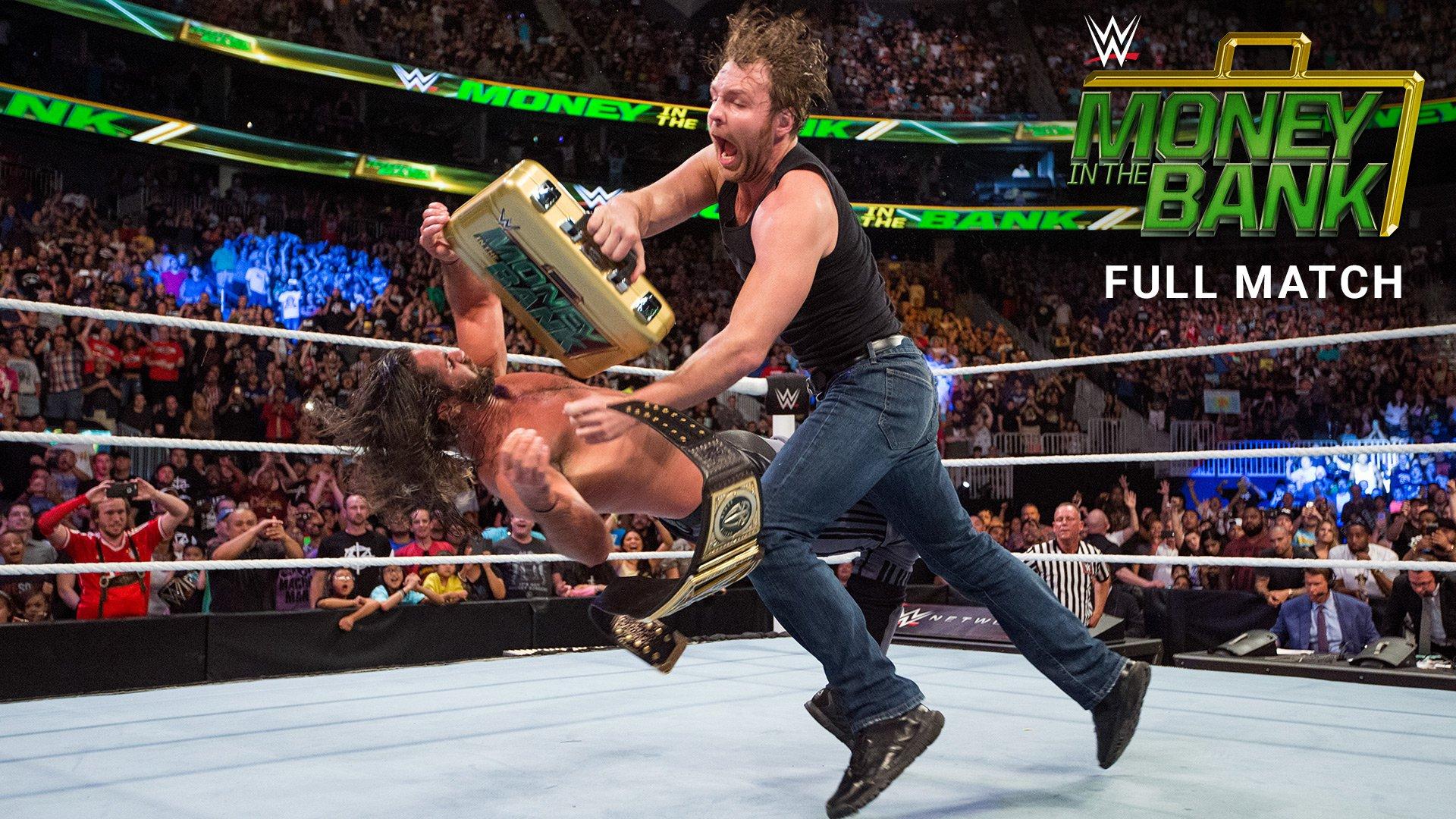 Dean Ambrose encaisse juste après le Match pour le Titre World Heavyweight WWE: Money in the Bank 2016 (Match intégral - Exclusivité WWE Network)