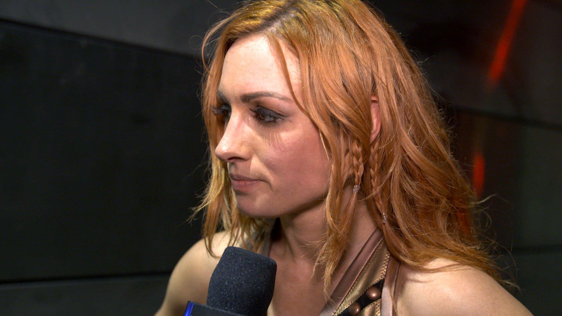 Becky Lynch souhaite se remettre sur les bons rails après WWE Money in the Bank: Exclusivité WWE.fr, 15 Mai 2018