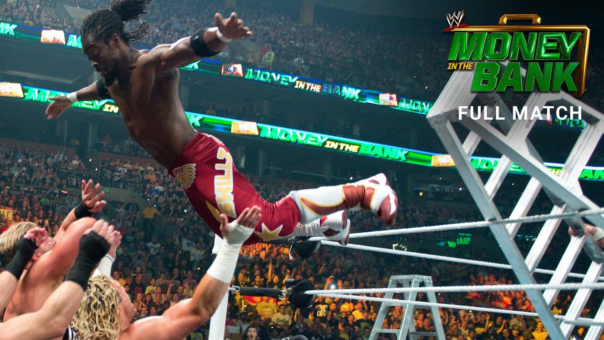 Match de l'échelle Money in the Bank pour un contrat au Titre WWE World Heavyweight: WWE Money in the Bank 2014 (Match Intégral - Exclusivité WWE Network)