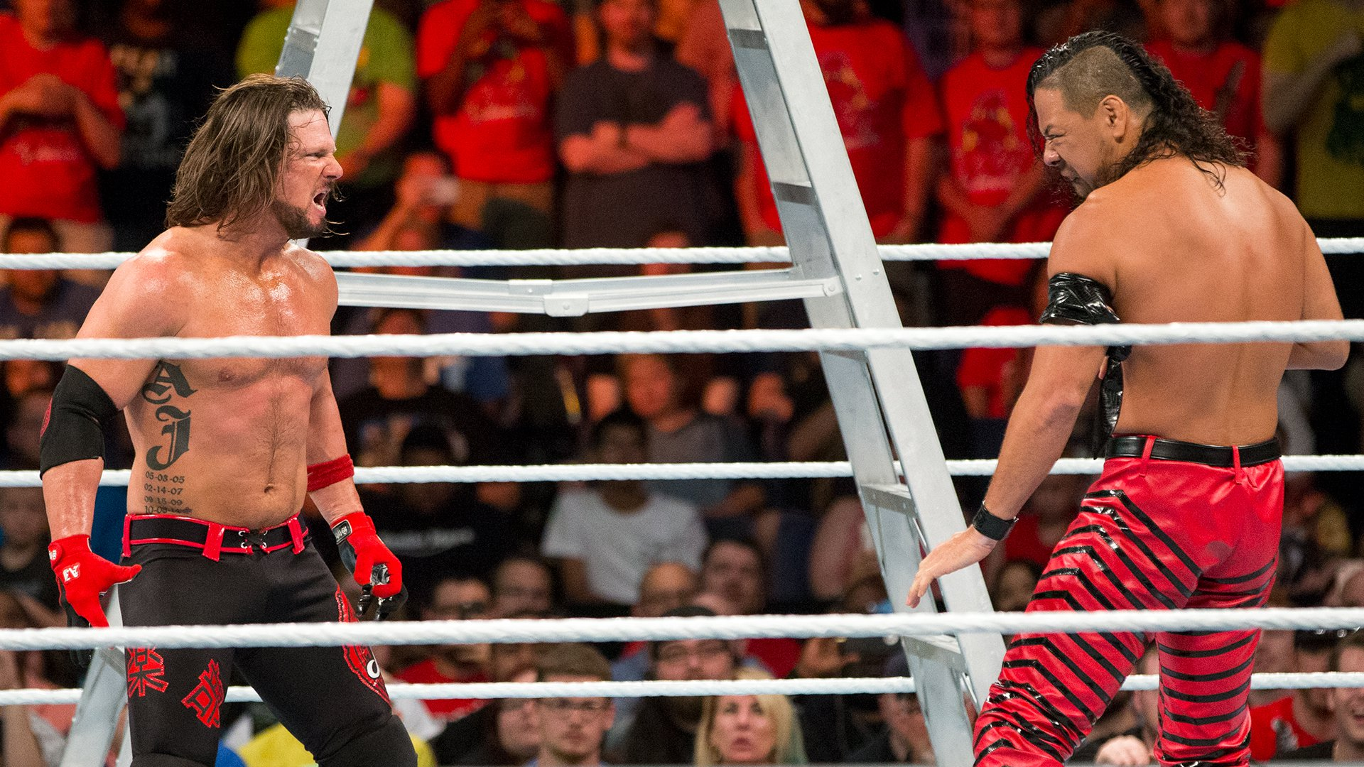 AJ Styles and Shinsuke Nakamura finally come face to face: WWE Money in the Bank 2017